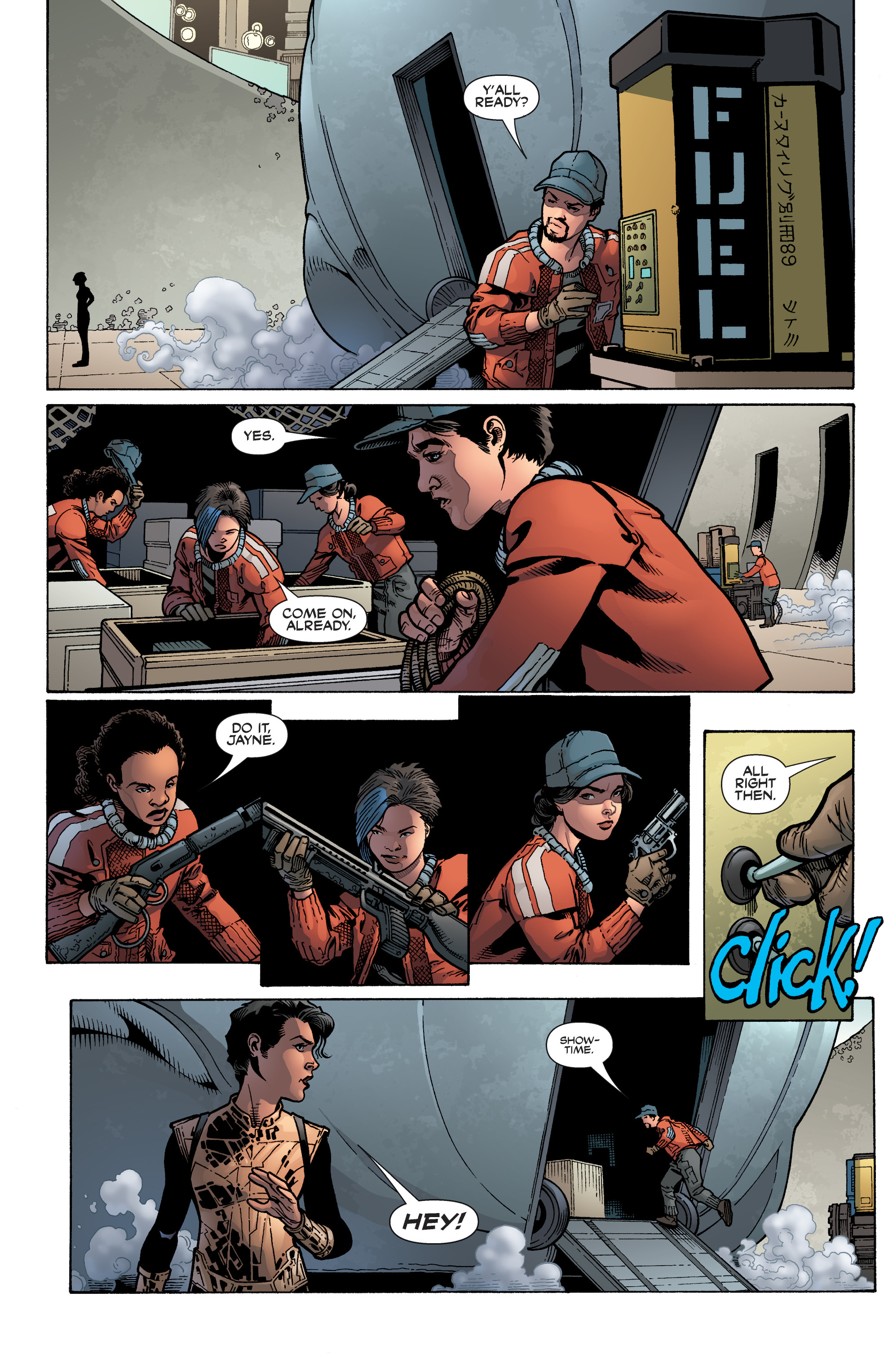 Read online Serenity: Firefly Class 03-K64 – No Power in the 'Verse comic -  Issue #5 - 16