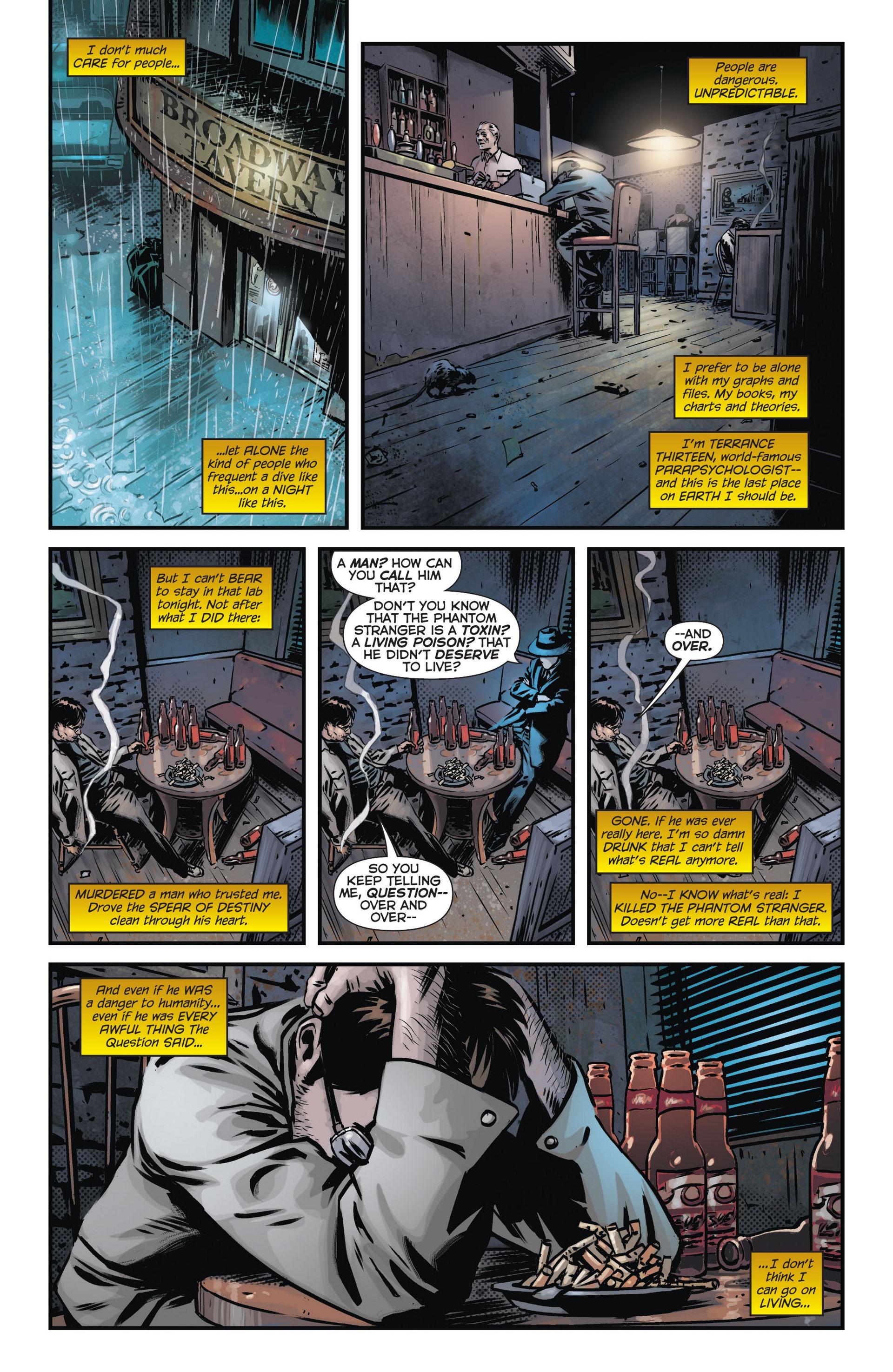 Read online Trinity of Sin: The Phantom Stranger comic -  Issue #9 - 13