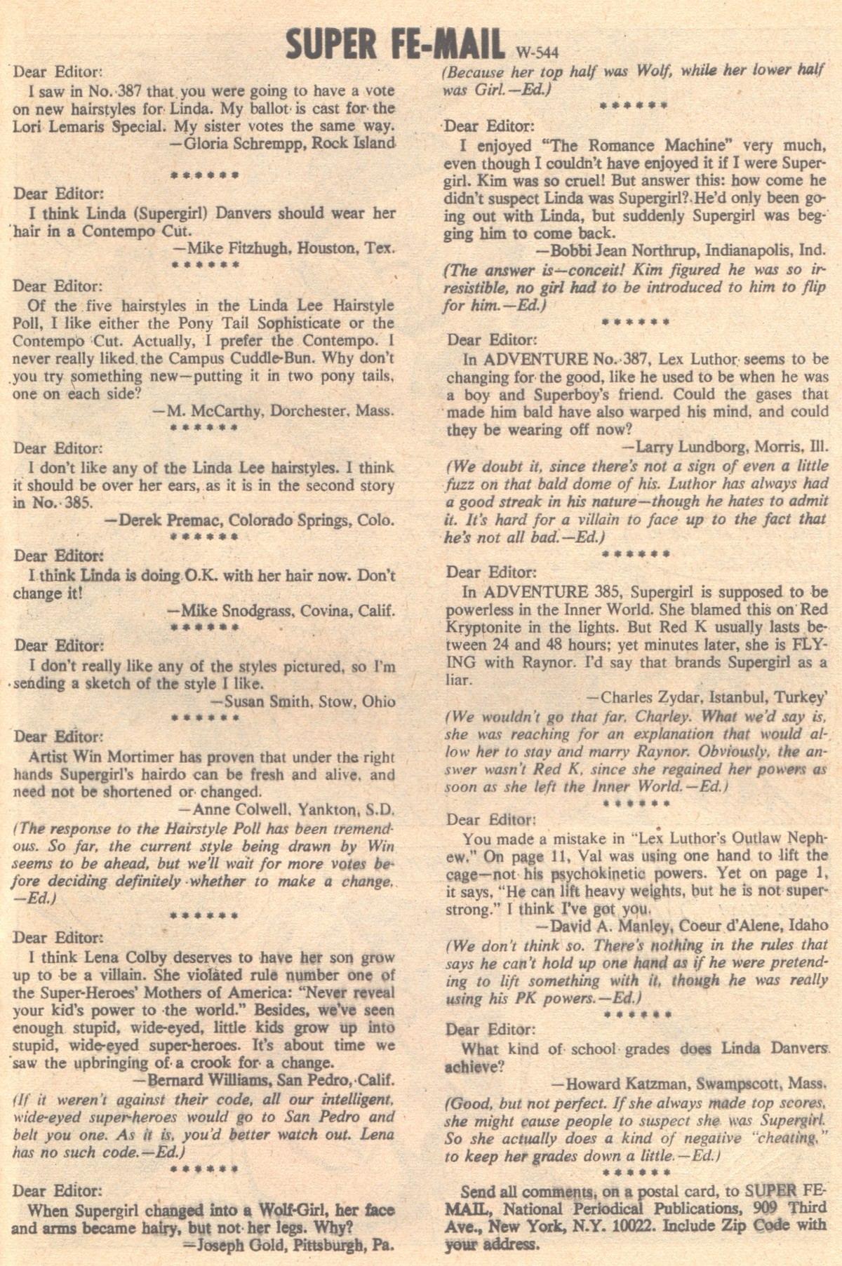 Read online Adventure Comics (1938) comic -  Issue #392 - 29