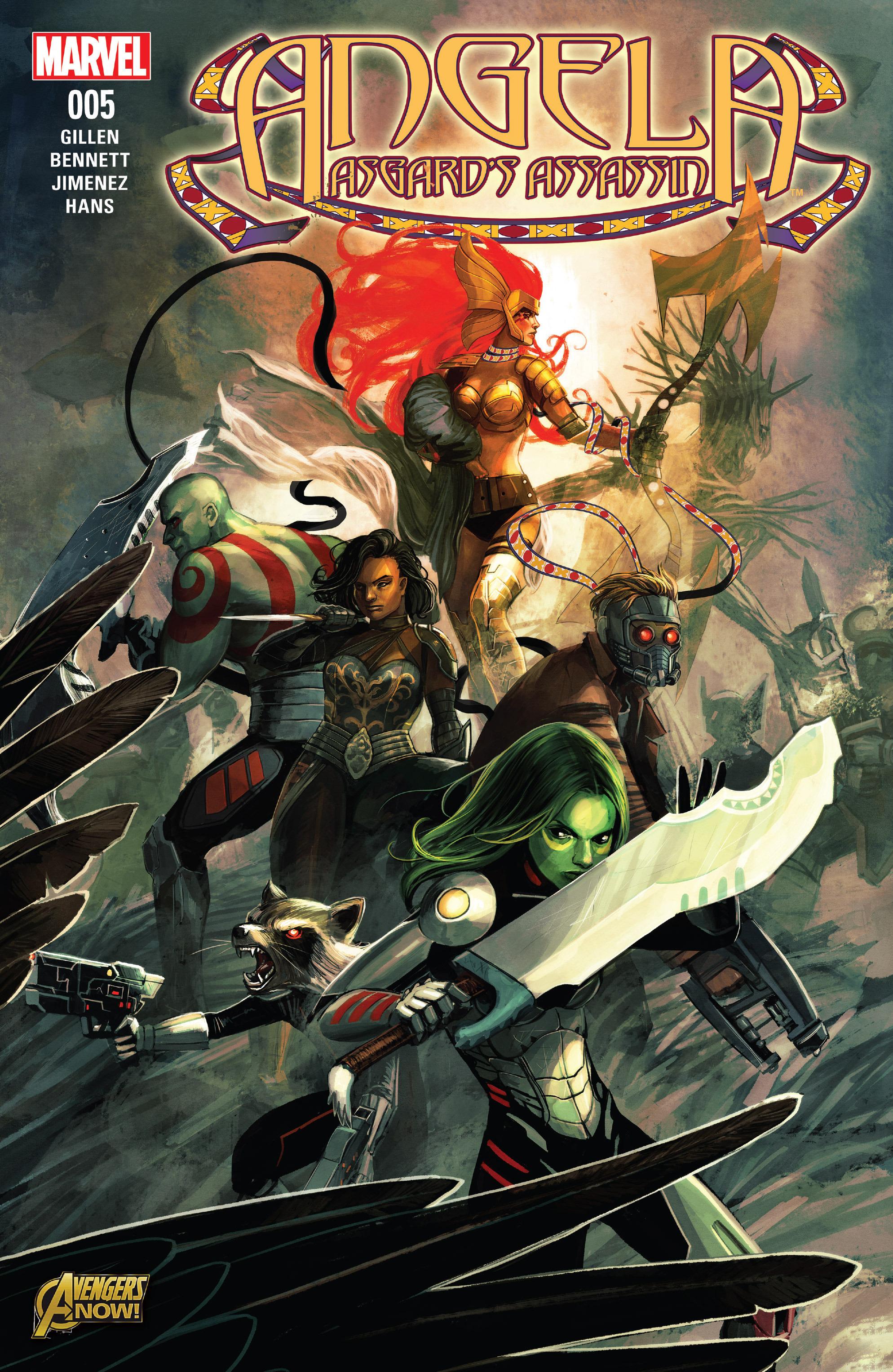 Read online Angela: Asgard's Assassin comic -  Issue #5 - 1