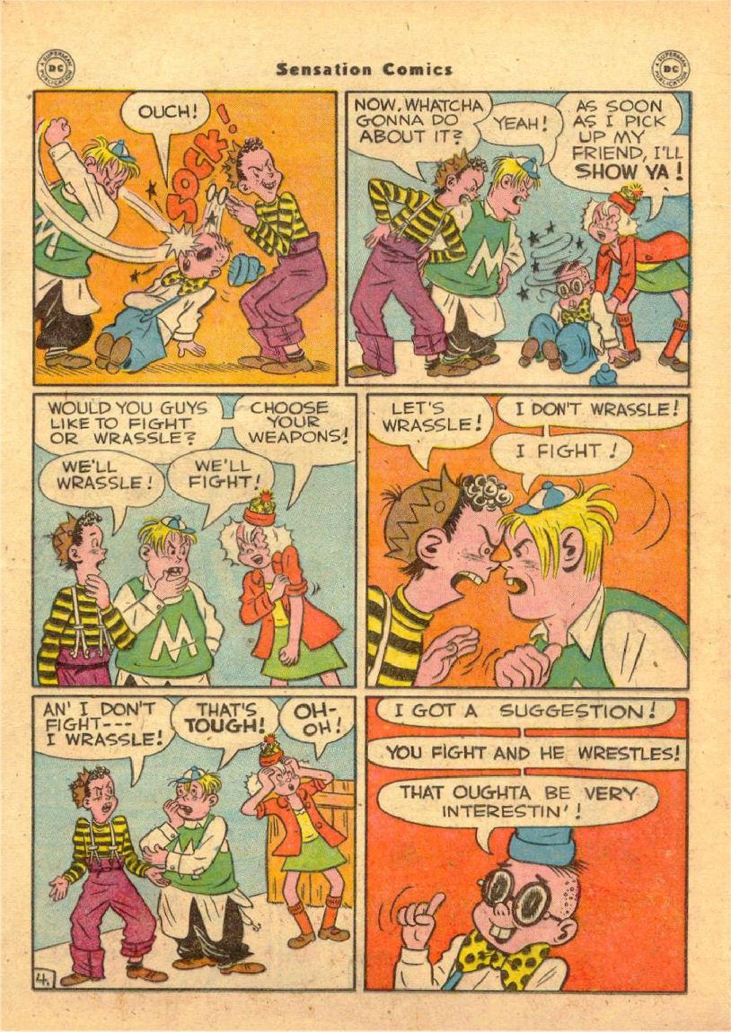 Read online Sensation (Mystery) Comics comic -  Issue #70 - 24