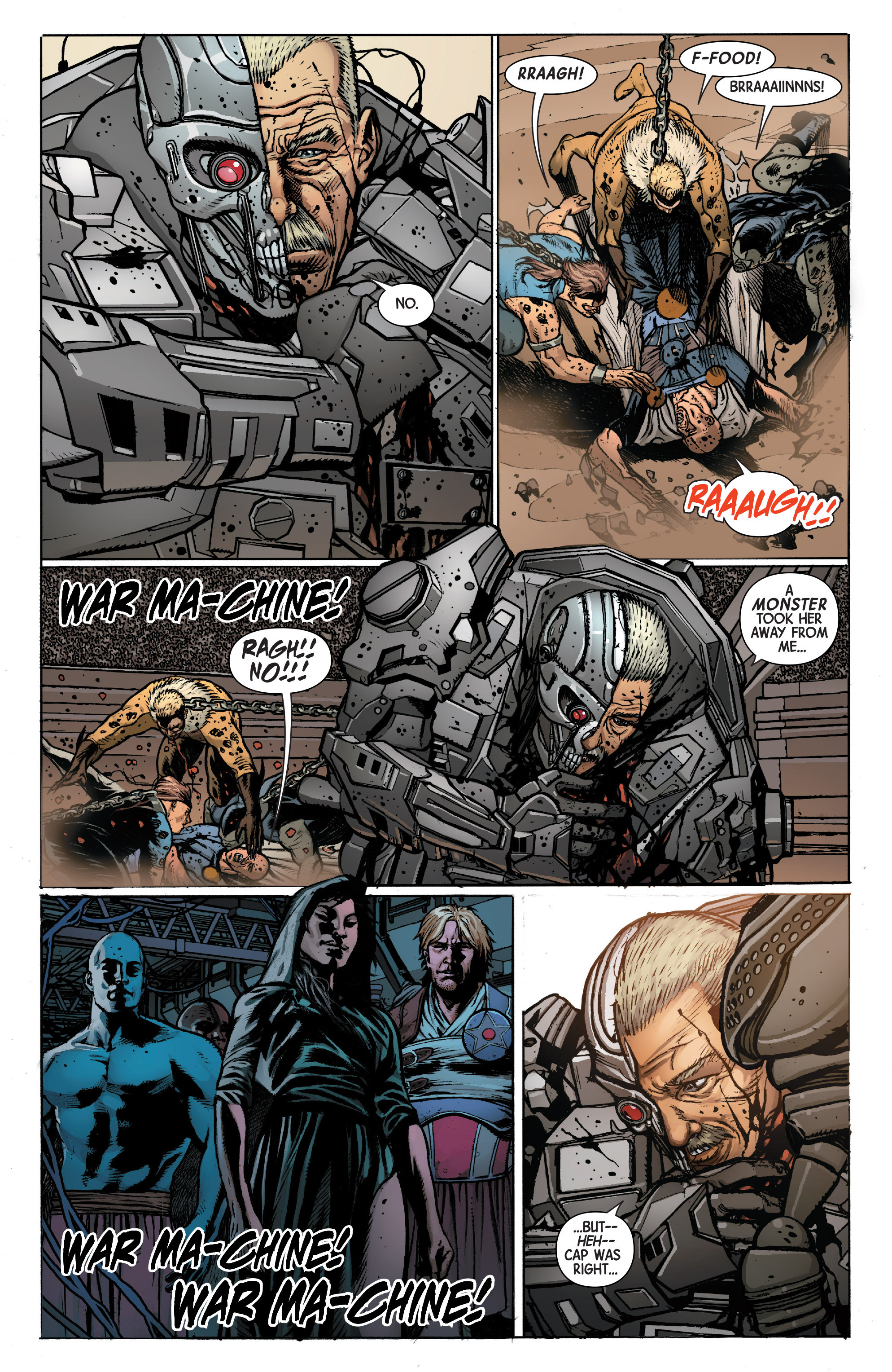 Read online Secret Wars Journal/Battleworld comic -  Issue # TPB - 163