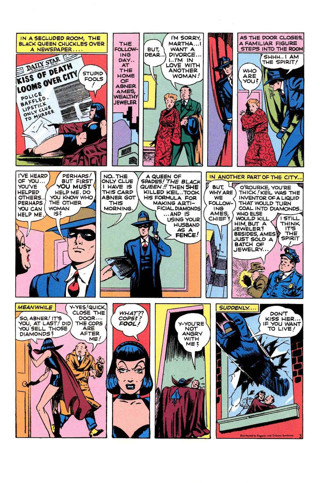 Read online Will Eisner's The Spirit Archives comic -  Issue # TPB 1 (Part 2) - 65