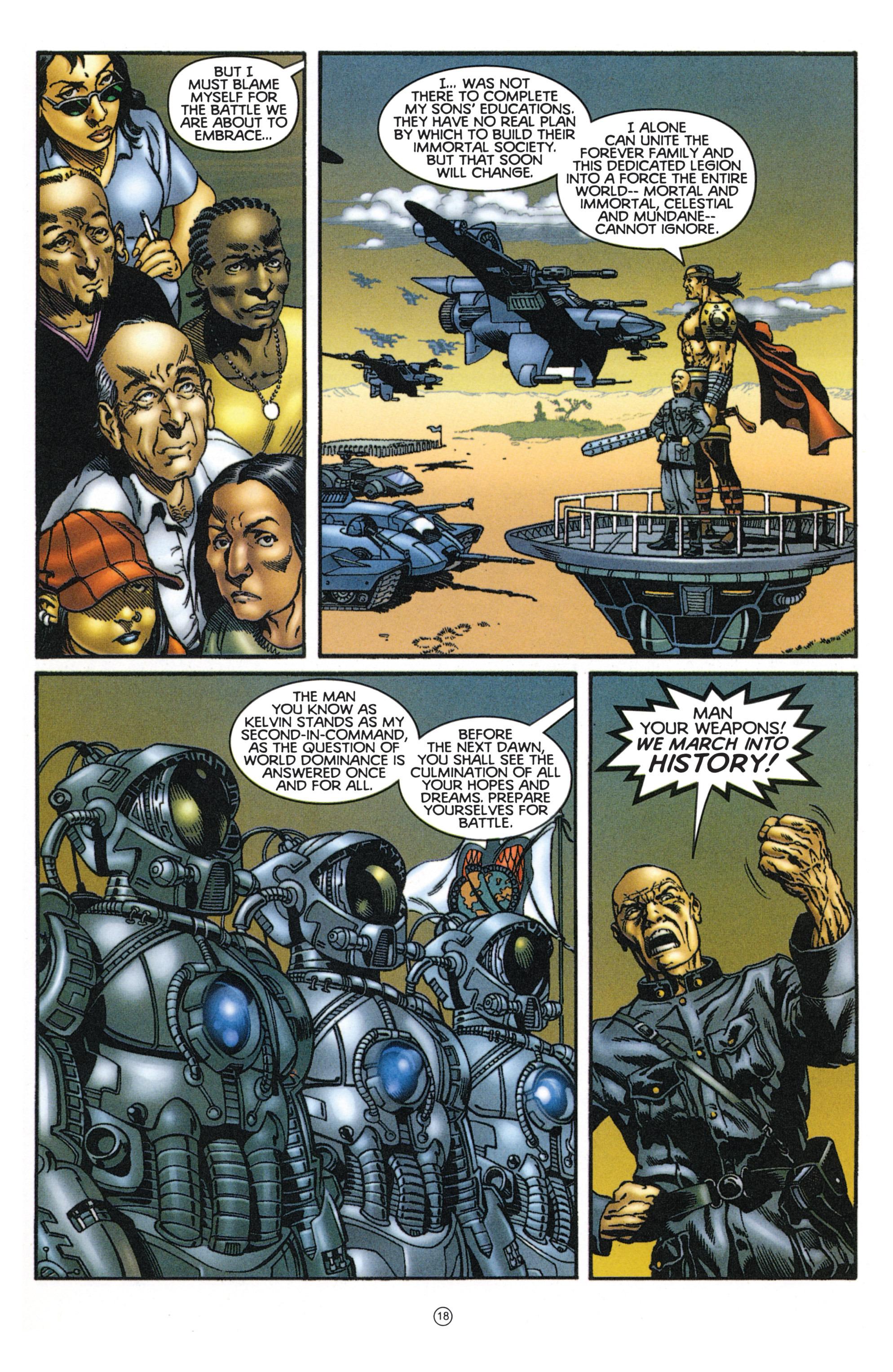 Read online Eternal Warriors comic -  Issue # Issue Mog - 16