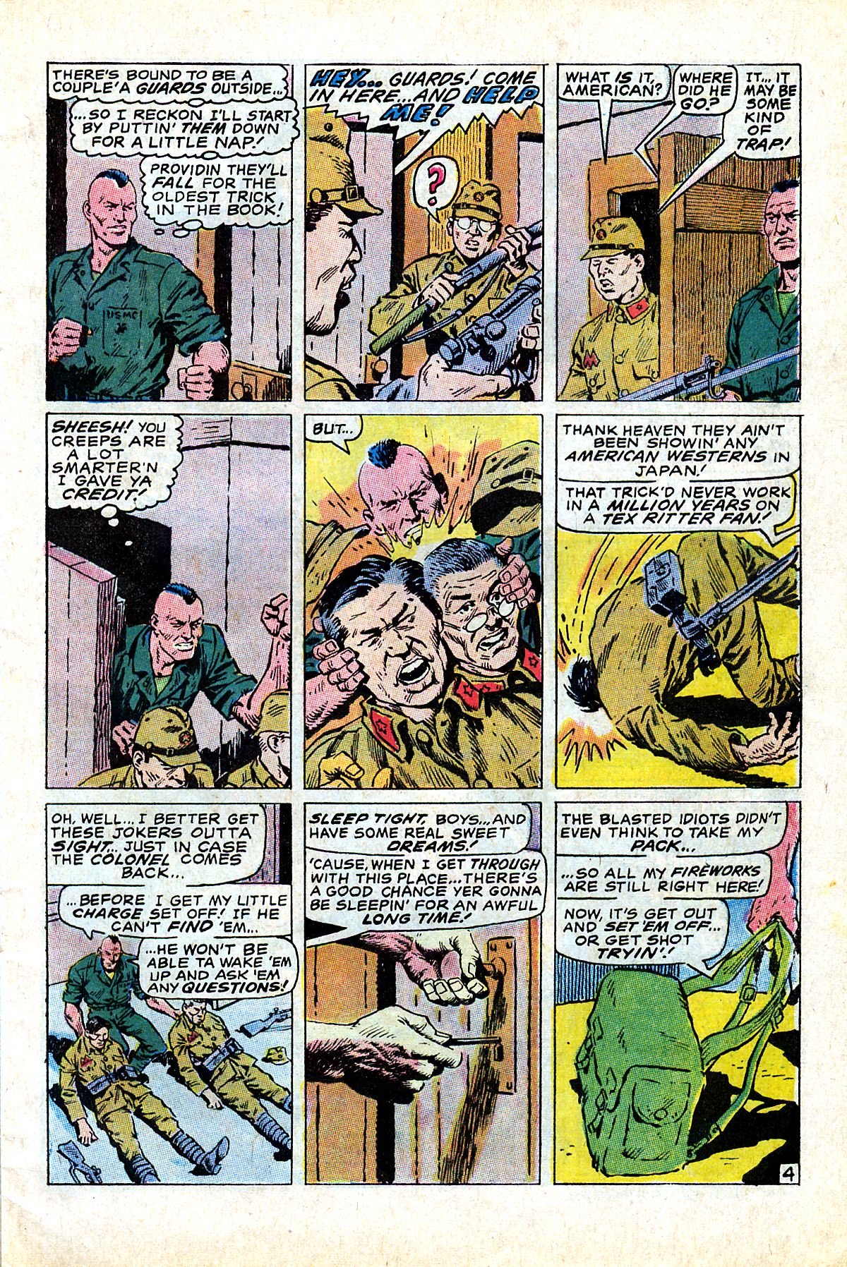 Captain Savage and his Leatherneck Raiders issue 17 - Page 7