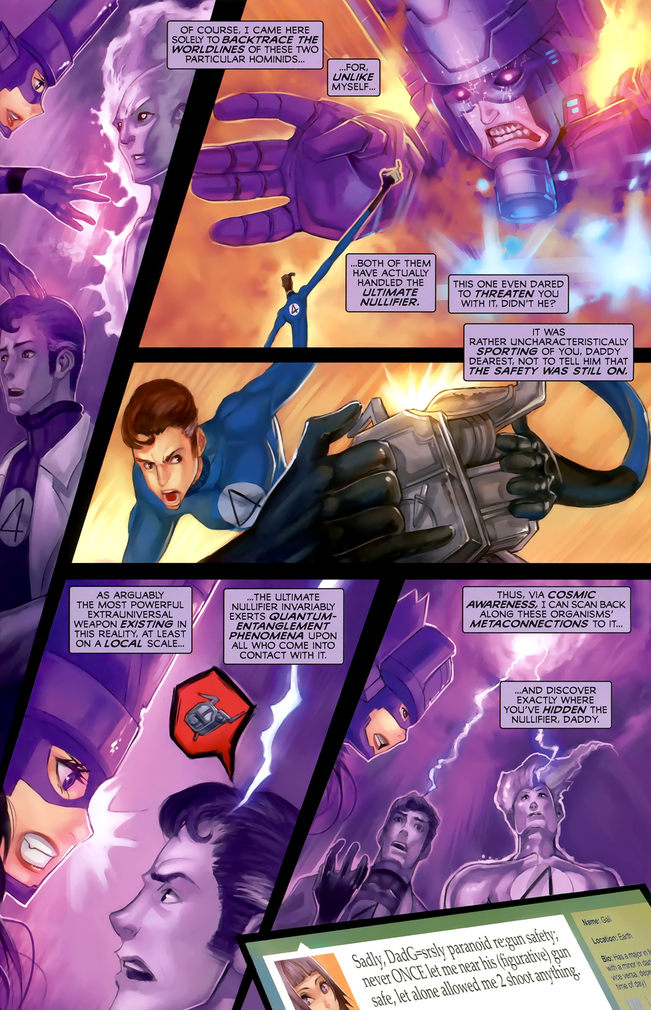 Read online Galacta: Daughter of Galactus comic -  Issue # Full - 27