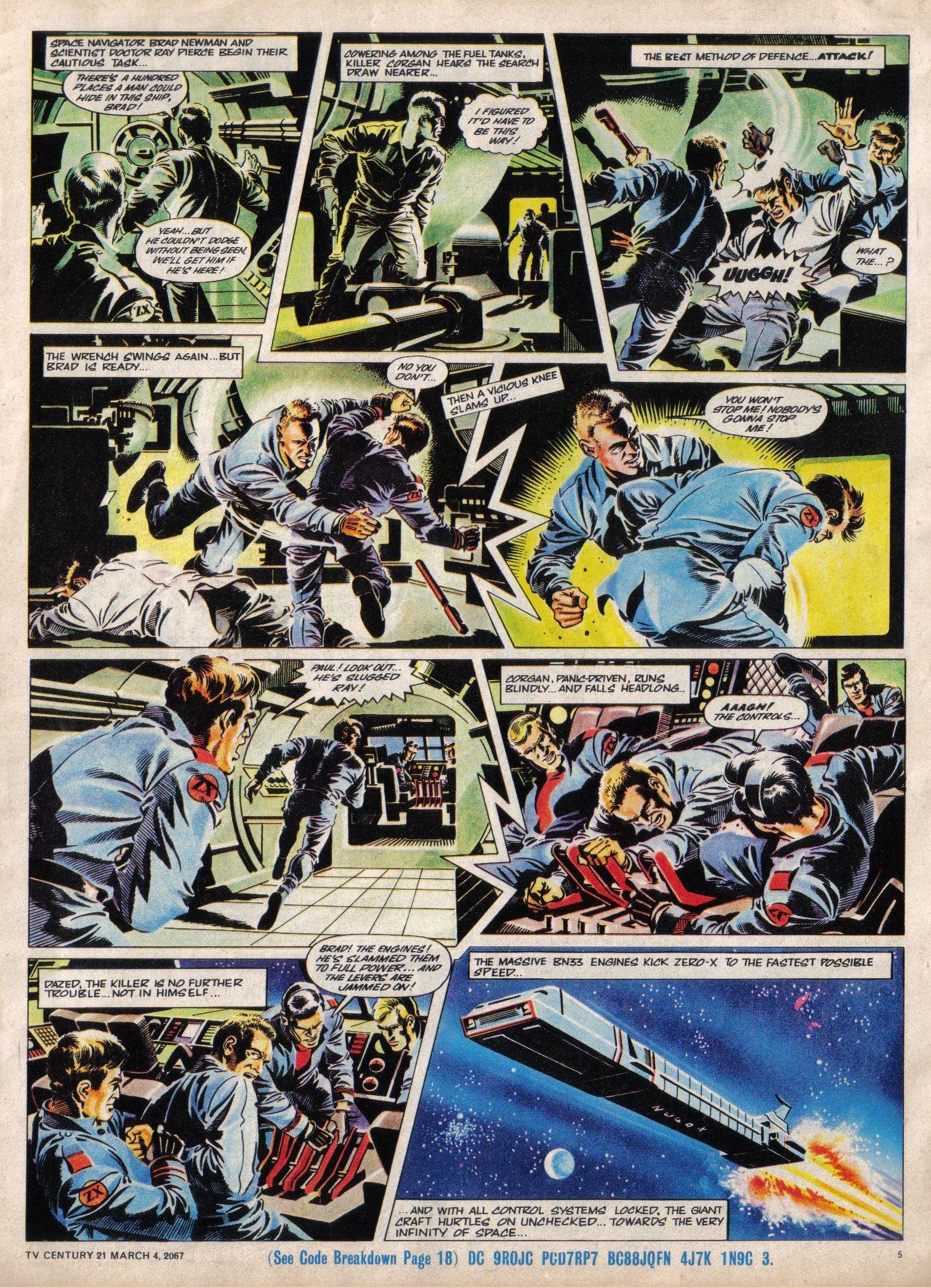 Read online TV Century 21 (TV 21) comic -  Issue #111 - 5