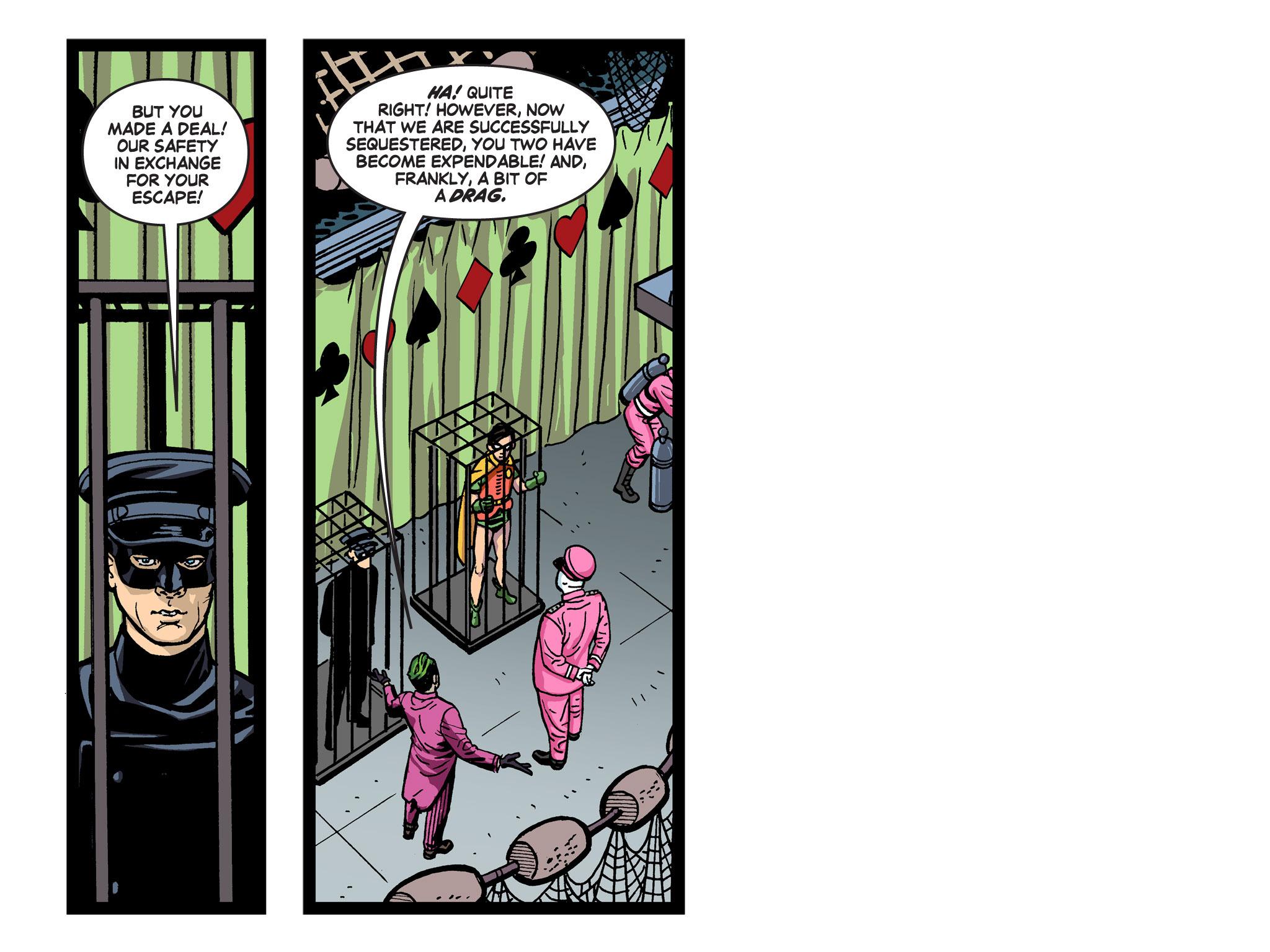 Read online Batman '66 Meets the Green Hornet [II] comic -  Issue #5 - 91