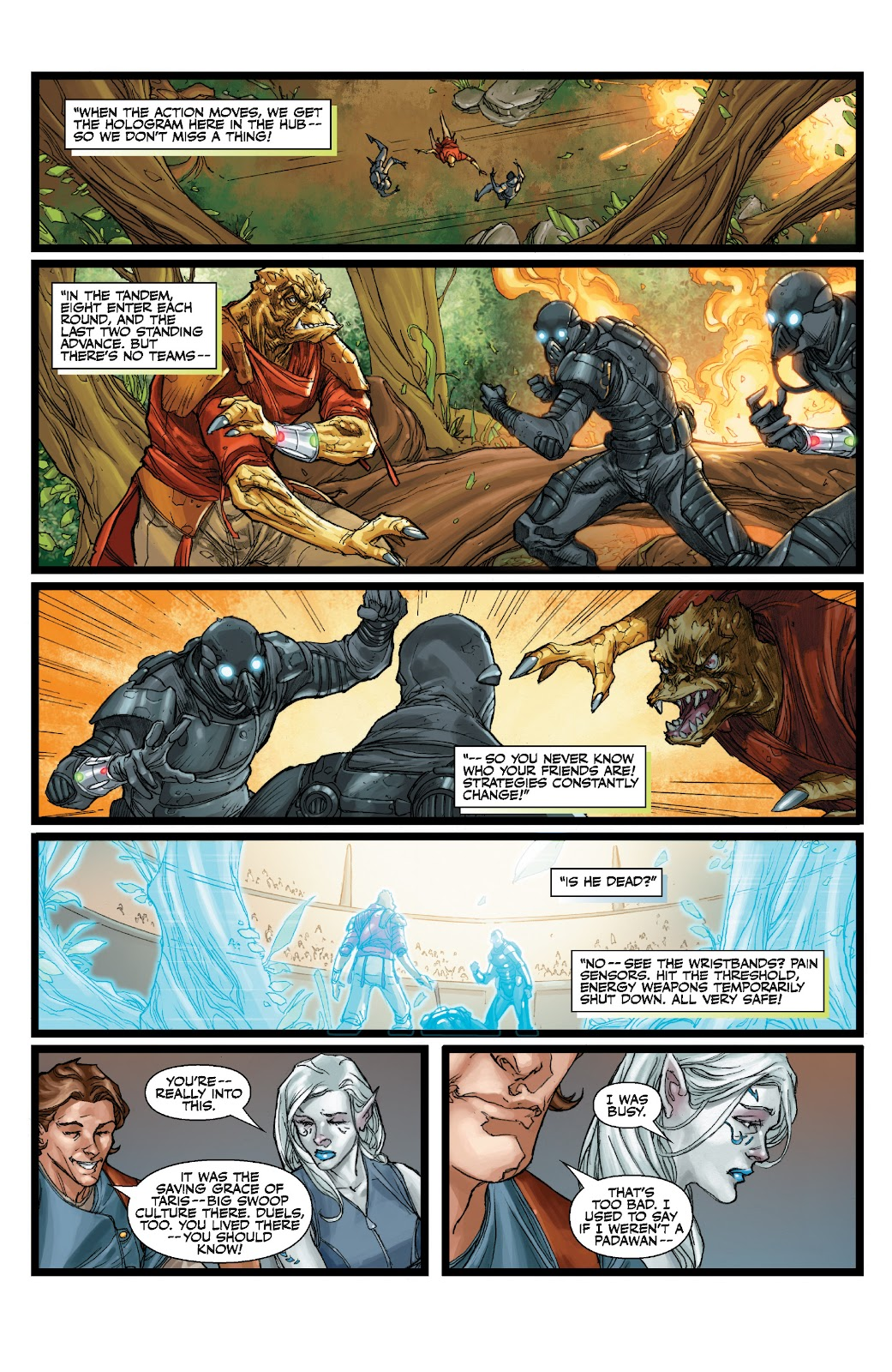 Read online Star Wars Legends: The Old Republic - Epic Collection comic -  Issue # TPB 3 (Part 1) - 39