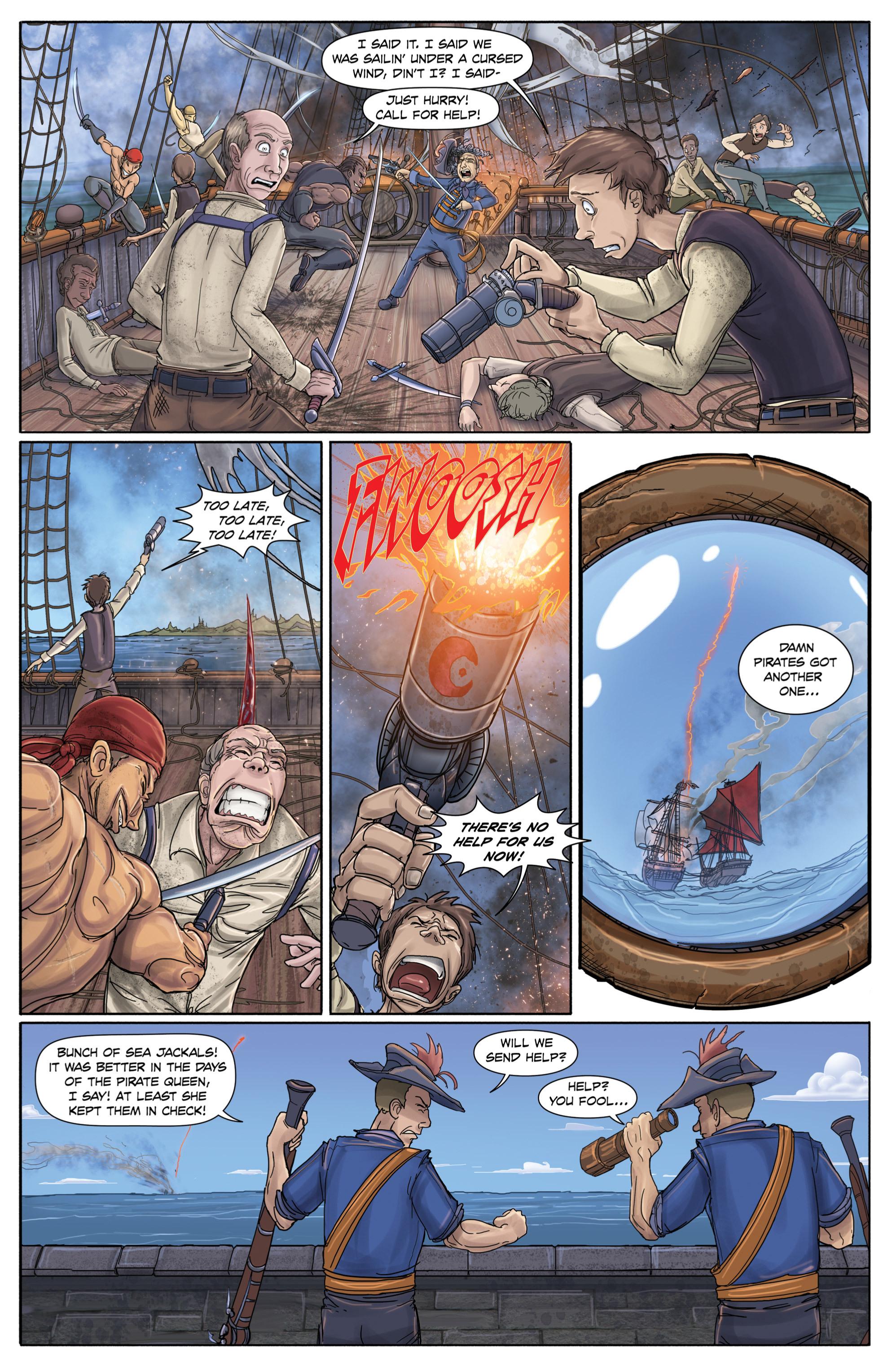Read online Anne Bonnie comic -  Issue #1 - 5