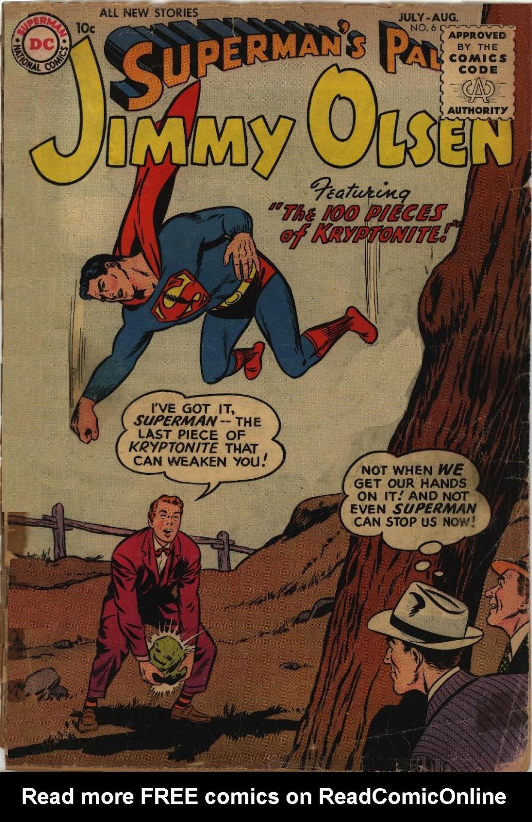 Supermans Pal Jimmy Olsen (1954) 6 Page 1