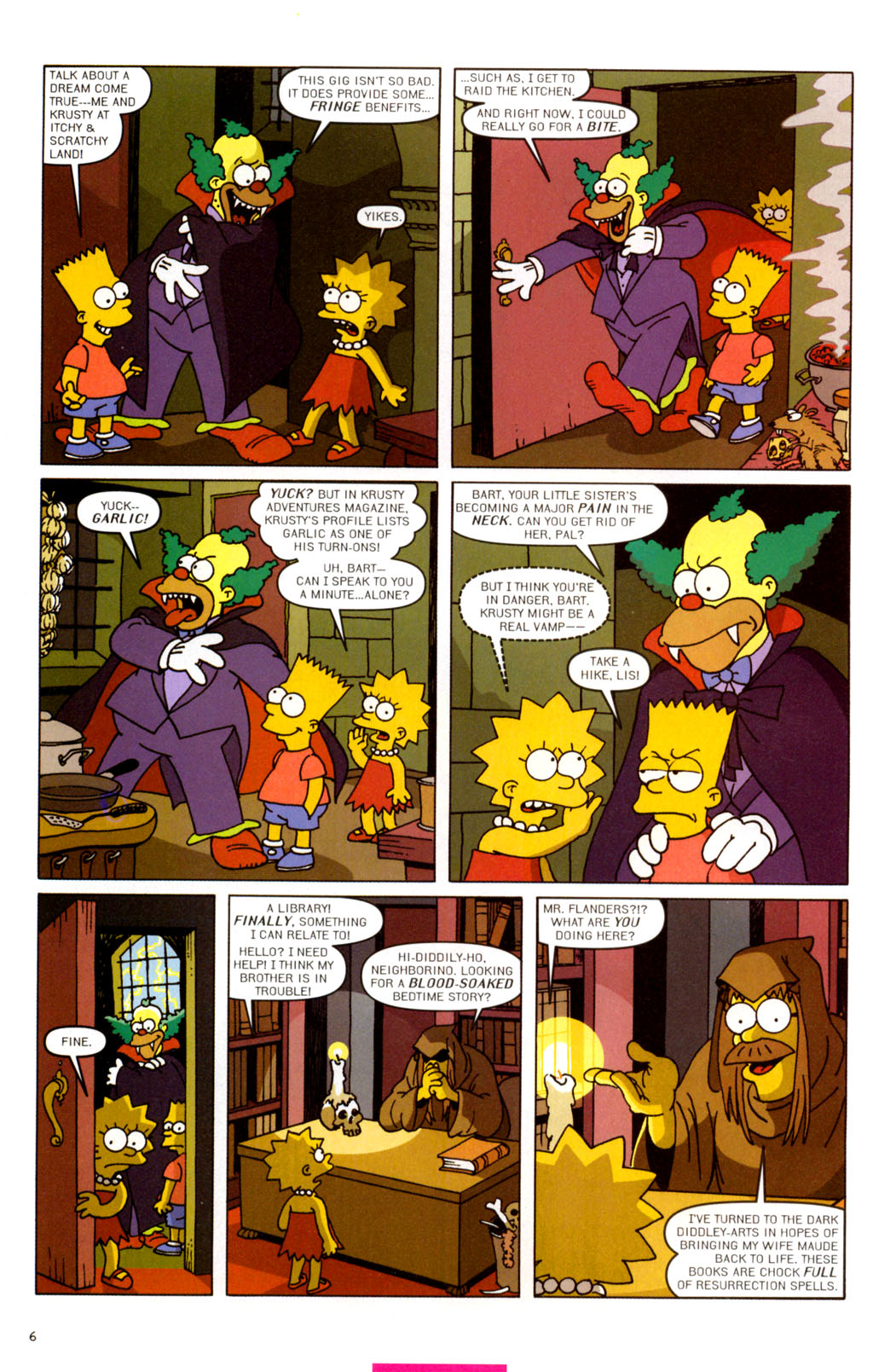 Read online Treehouse of Horror comic -  Issue #11 - 37