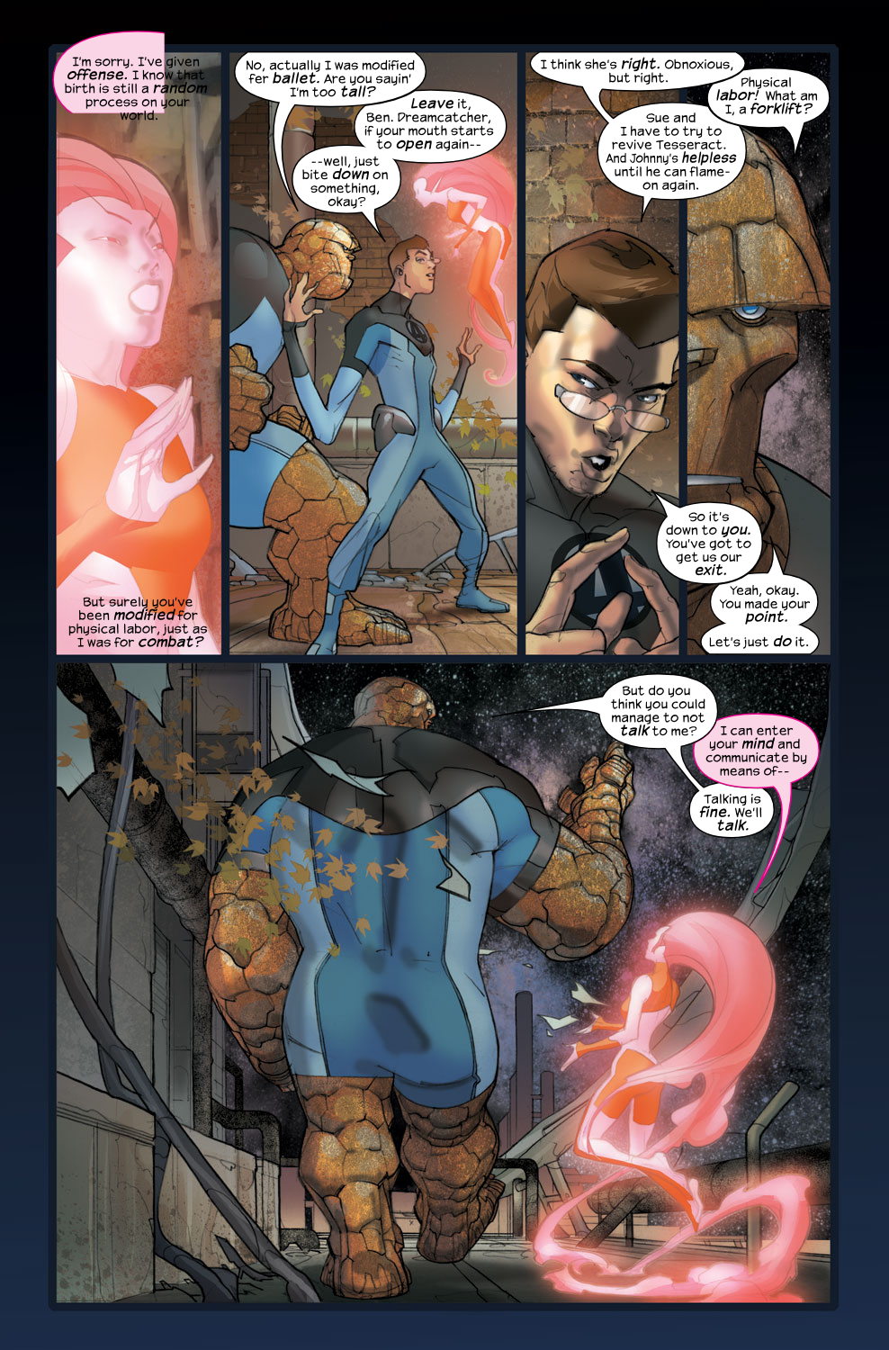 Read online Ultimate Fantastic Four (2004) comic -  Issue #36 - 11