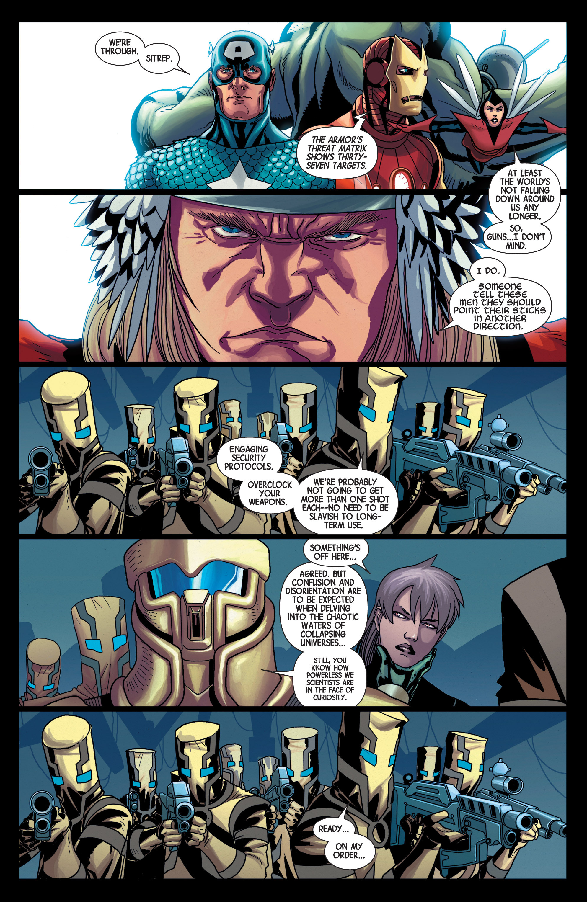 Read online Avengers (2013) comic -  Issue #25 - 15