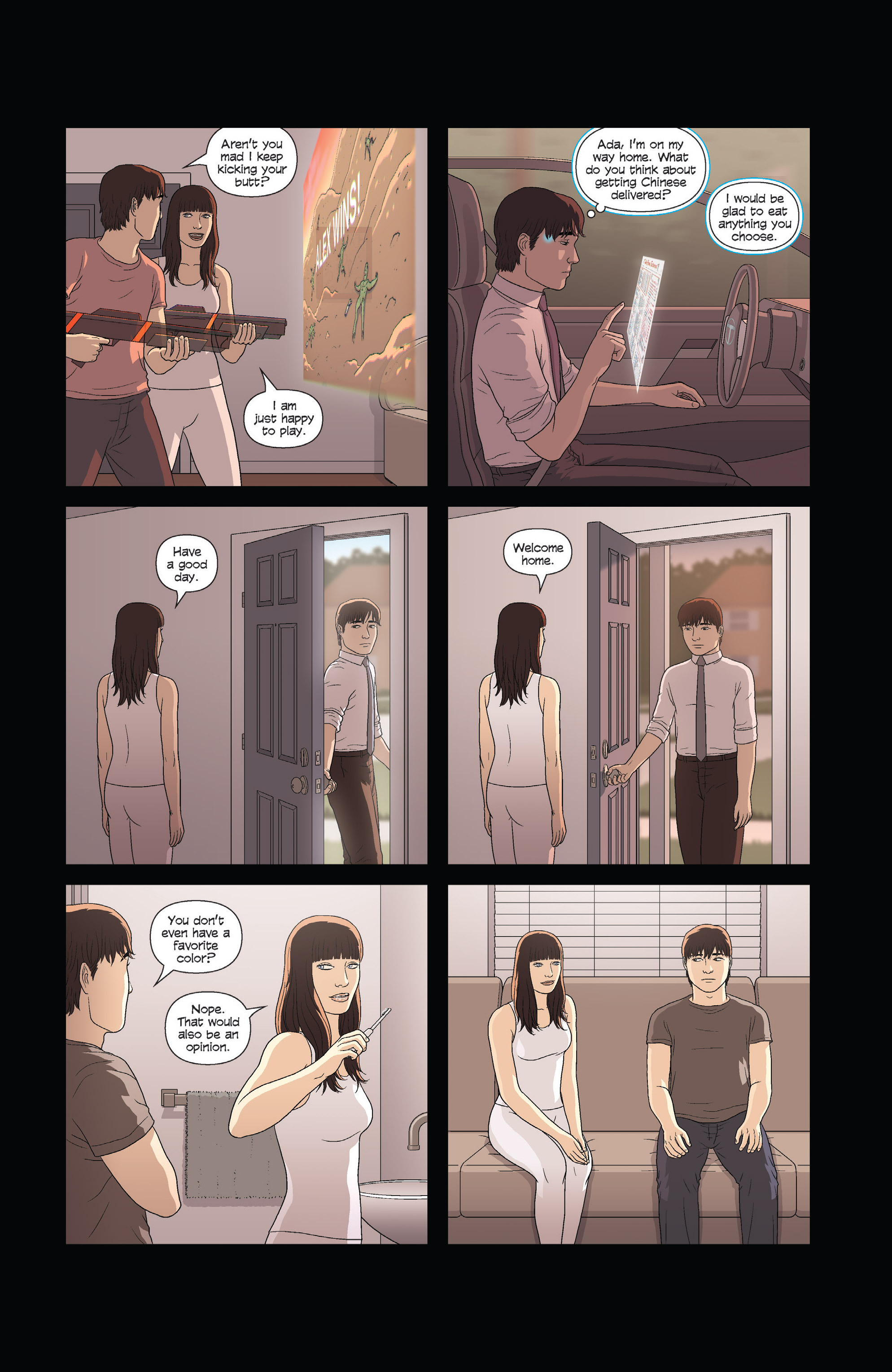 Read online Alex   Ada comic -  Issue #3 - 12
