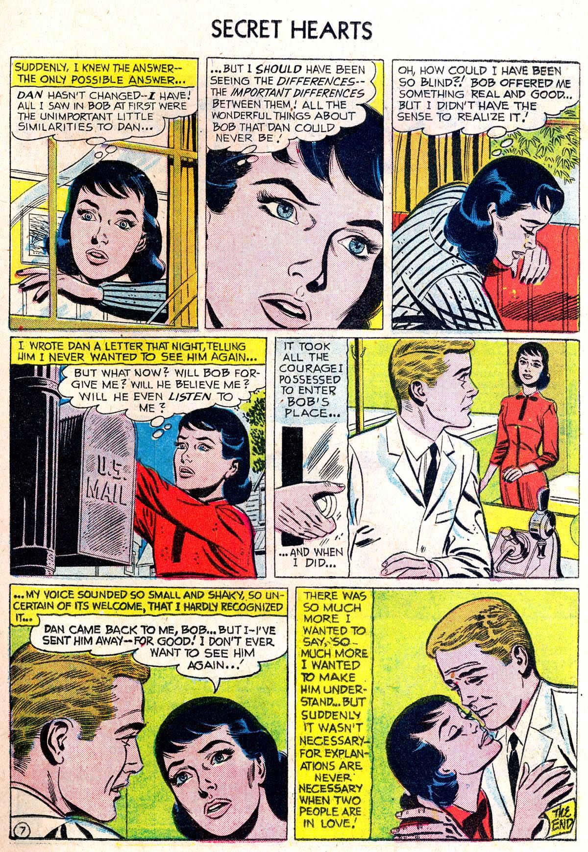 Read online Secret Hearts comic -  Issue #38 - 23