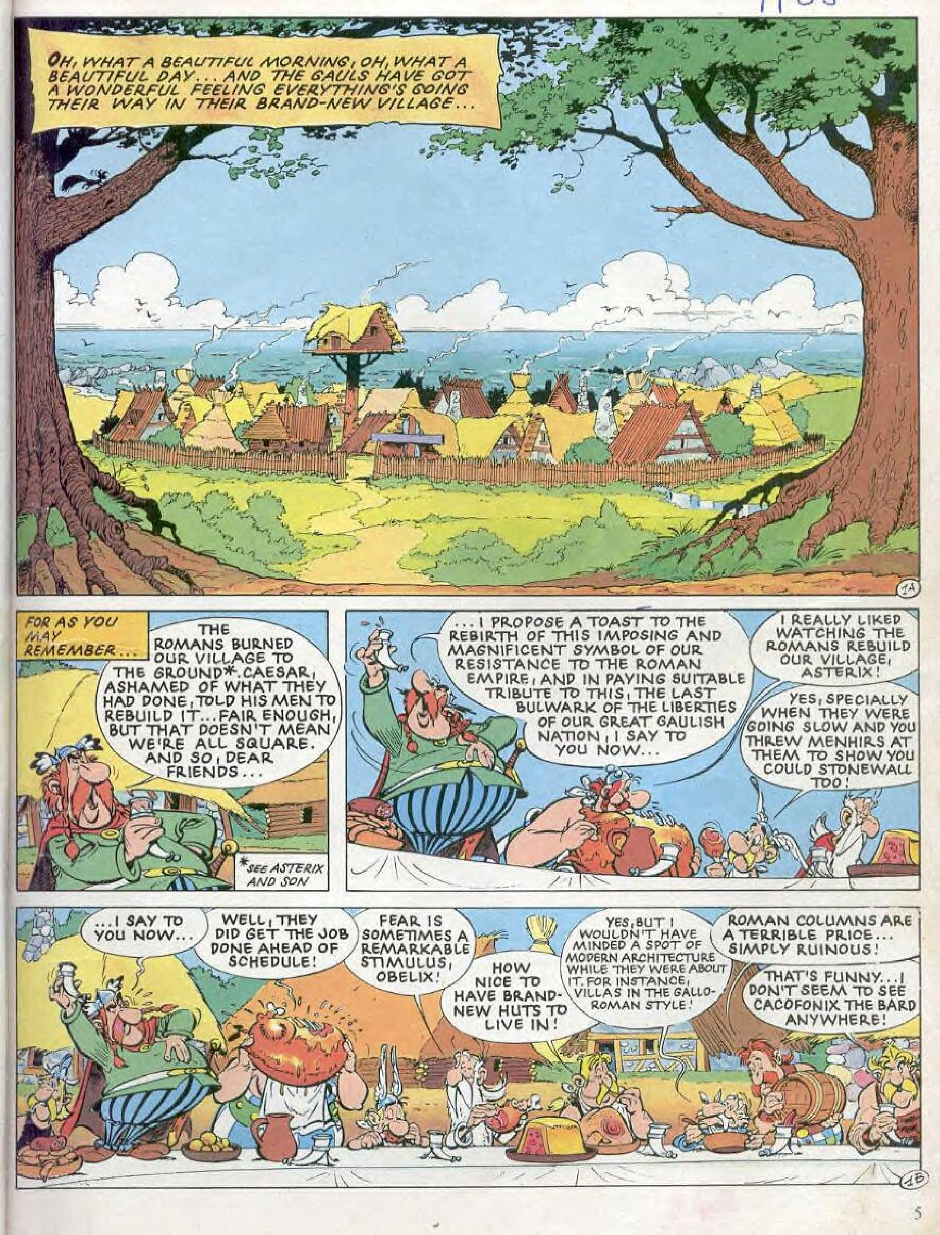 Read online Asterix comic -  Issue #28 - 2