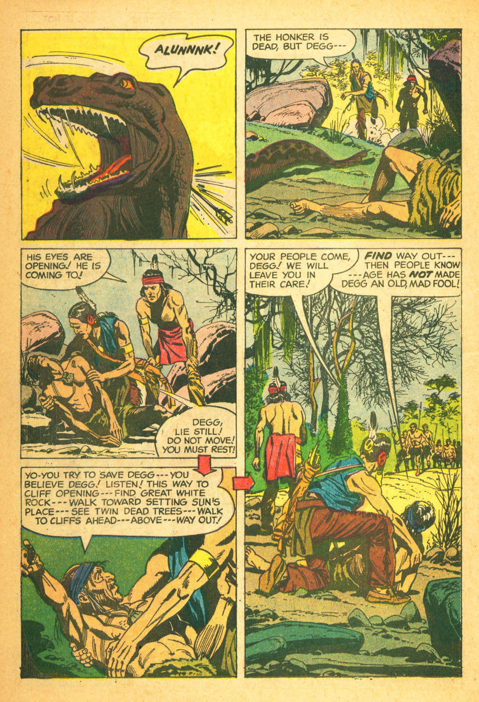 Read online Turok, Son of Stone comic -  Issue #27 - 14