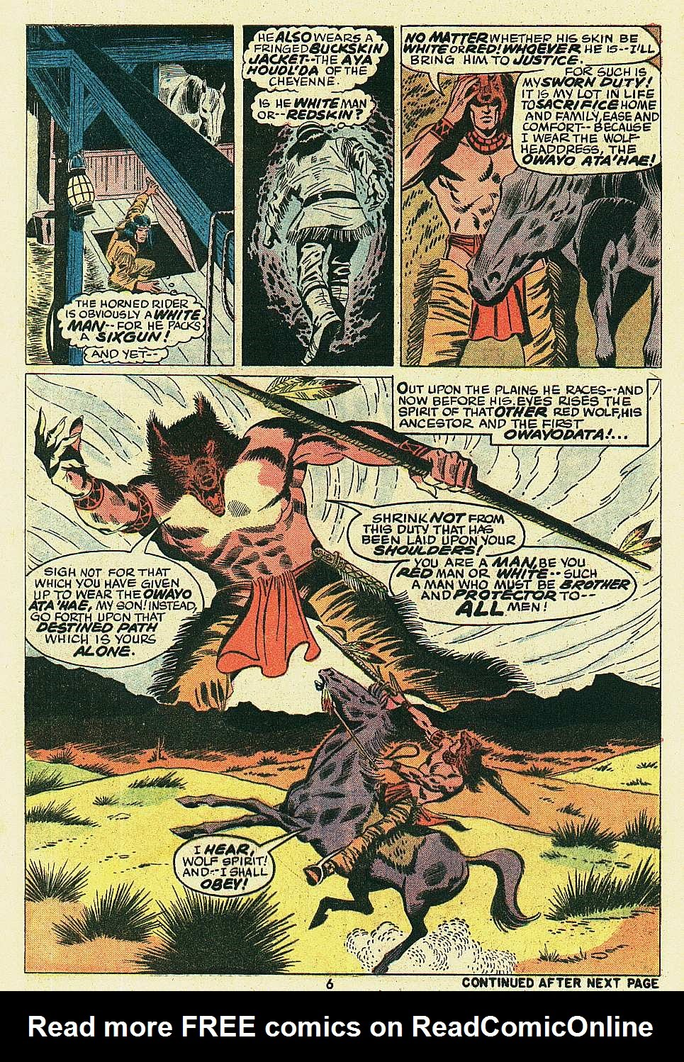 Red Wolf (1972) issue 6 - Page 6
