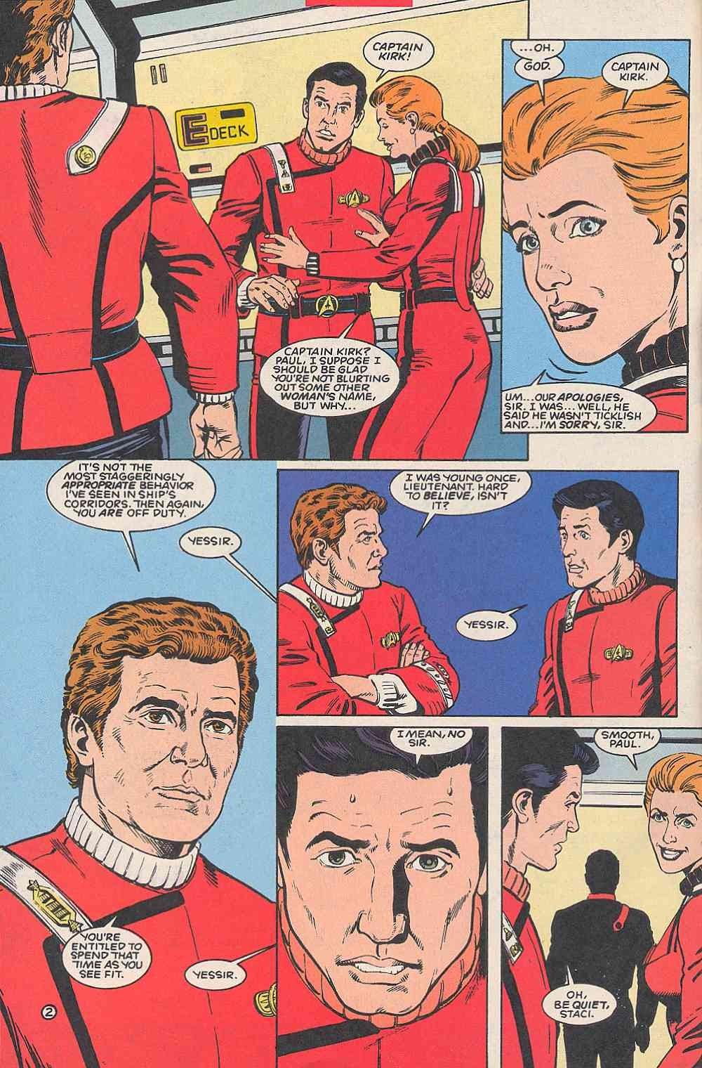 Read online Star Trek (1989) comic -  Issue # _Special 1 - 4