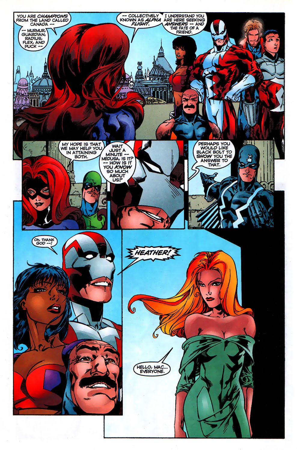 Read online Alpha Flight (1997) comic -  Issue # _Annual - 25