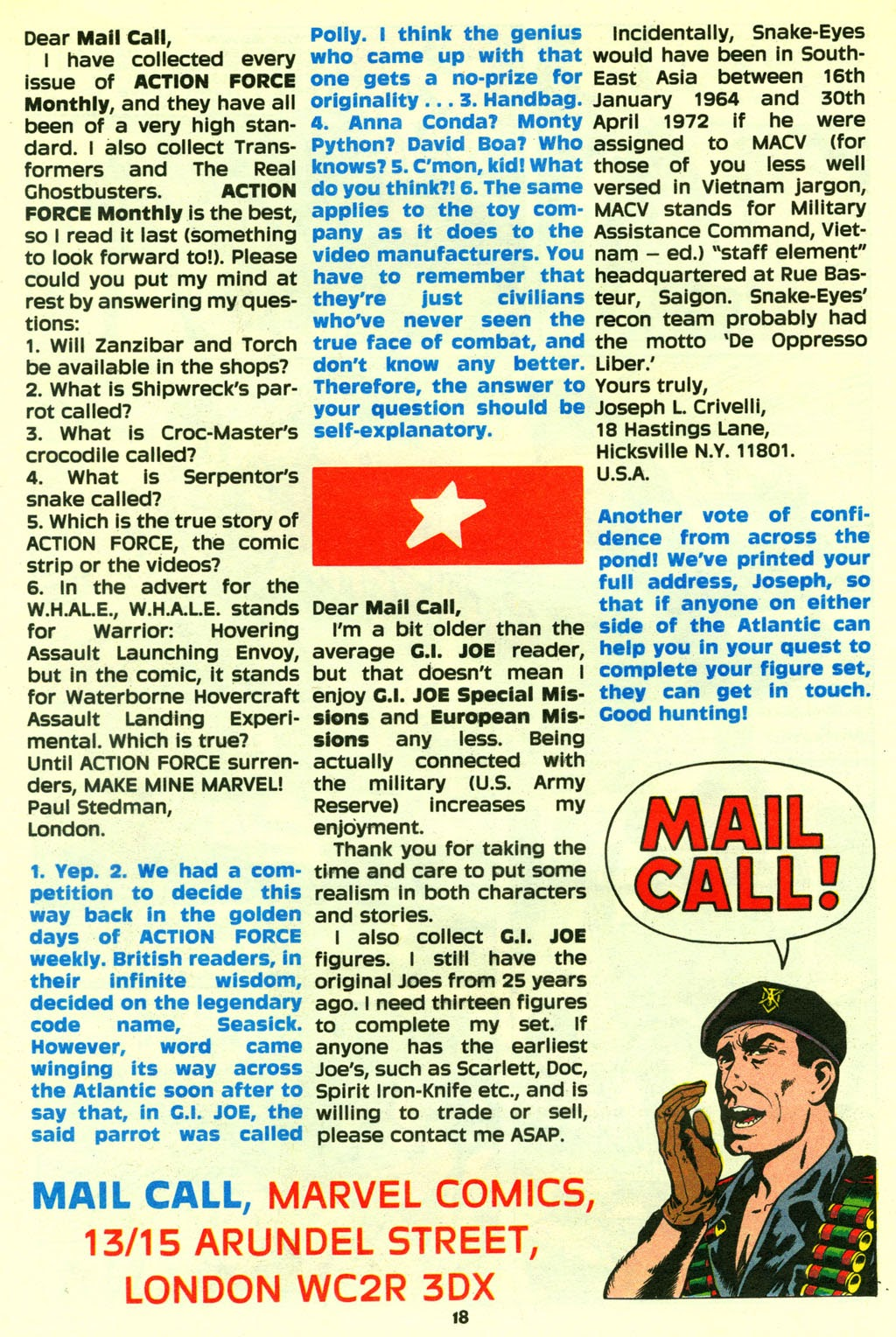 G.I. Joe European Missions issue 14 - Page 19