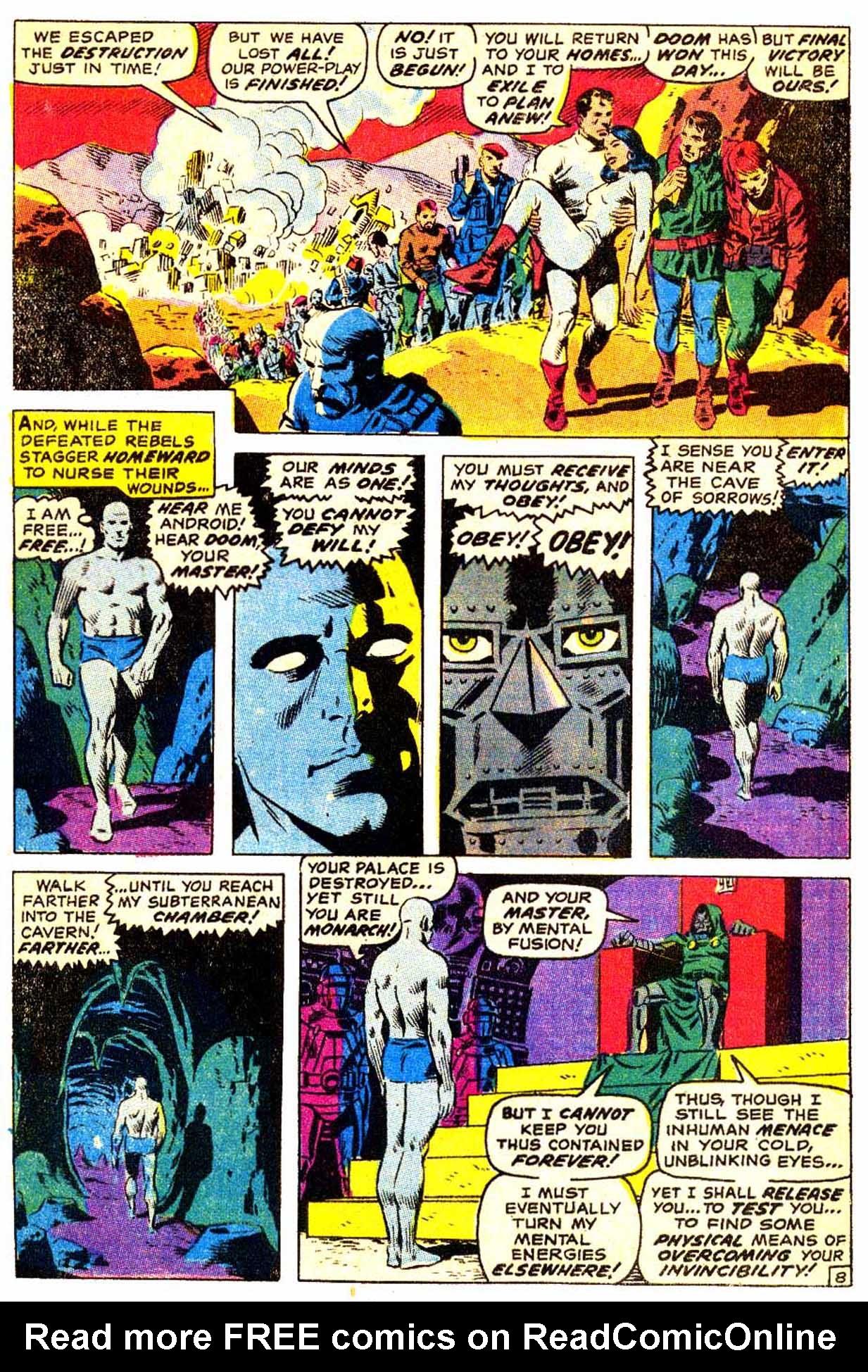 Read online Astonishing Tales (1970) comic -  Issue #3 - 9