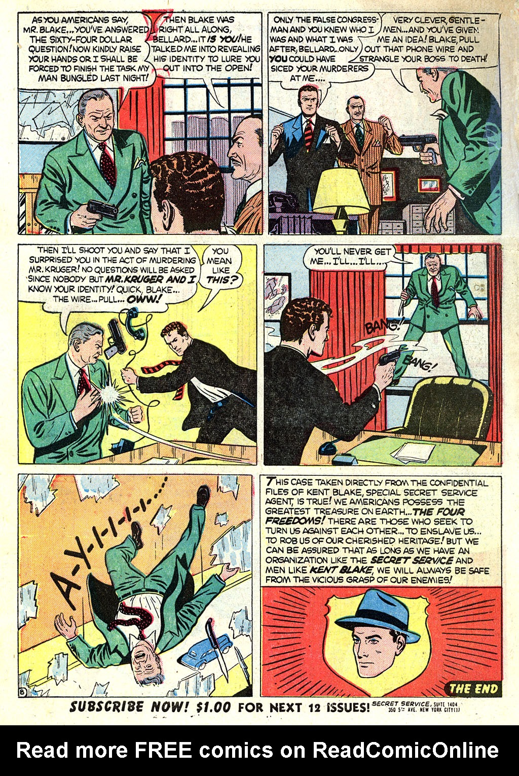 Kent Blake of the Secret Service issue 1 - Page 10