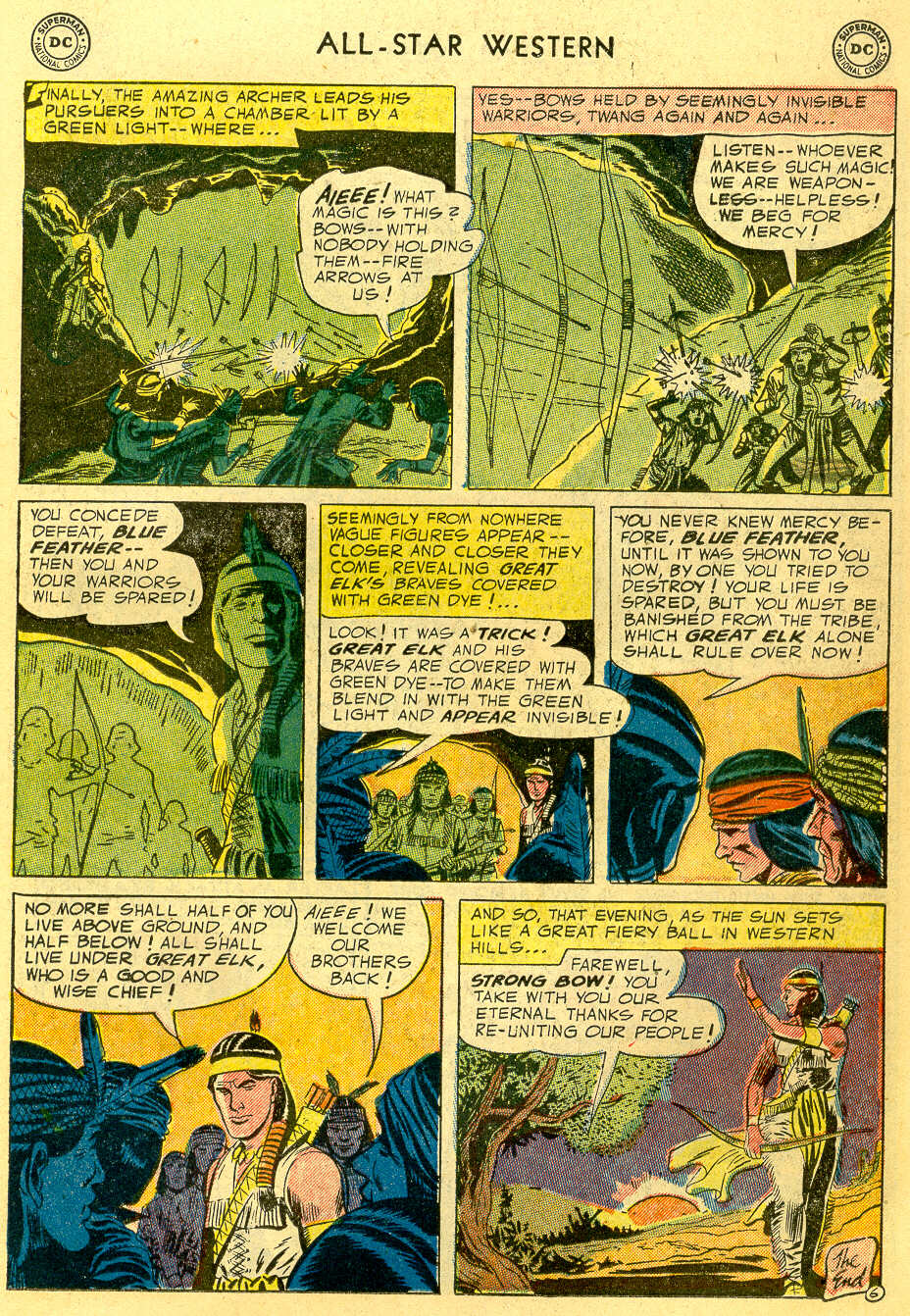 Read online All-Star Western (1951) comic -  Issue #82 - 15