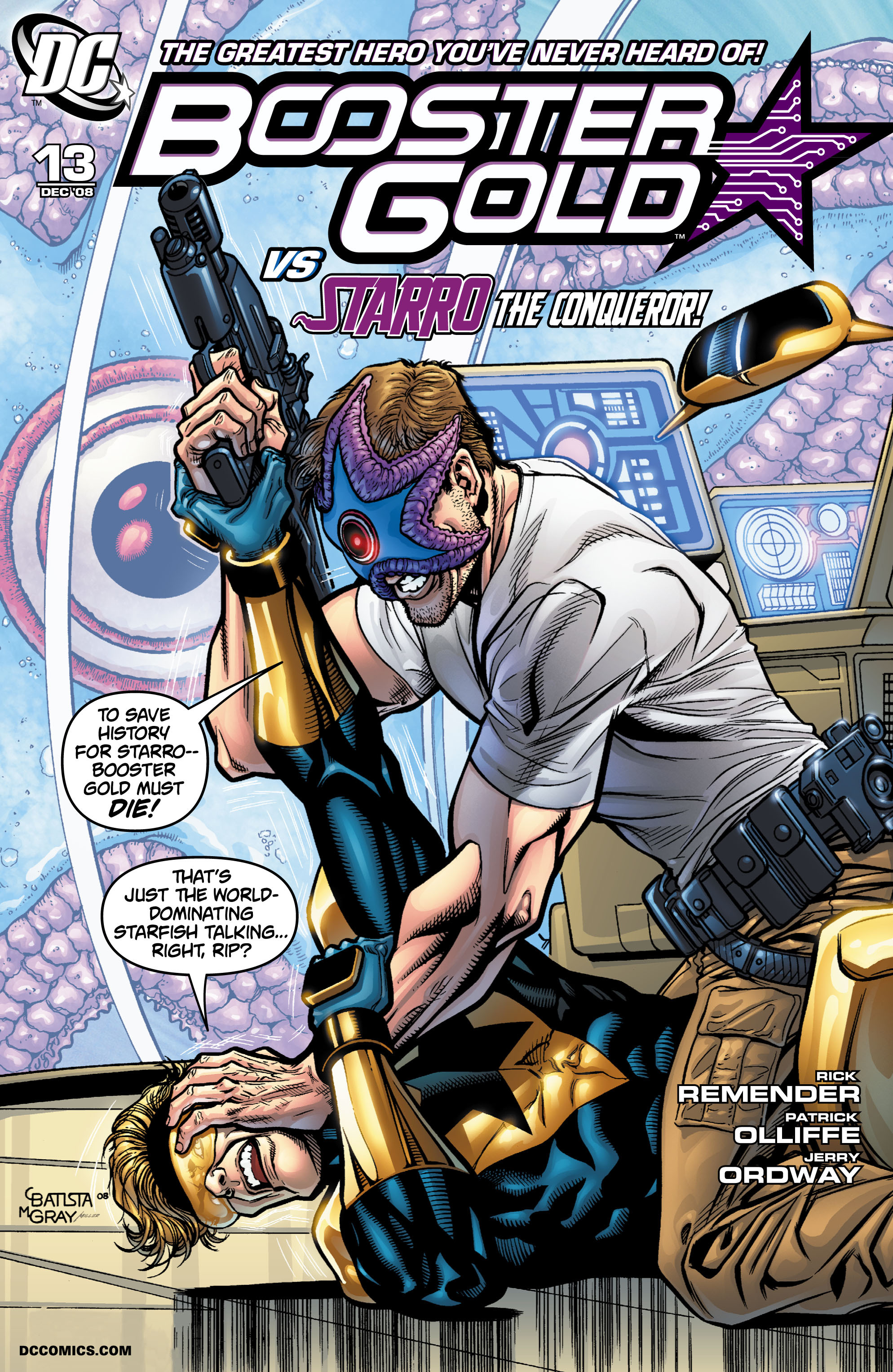 Booster Gold 2007 Issue 13