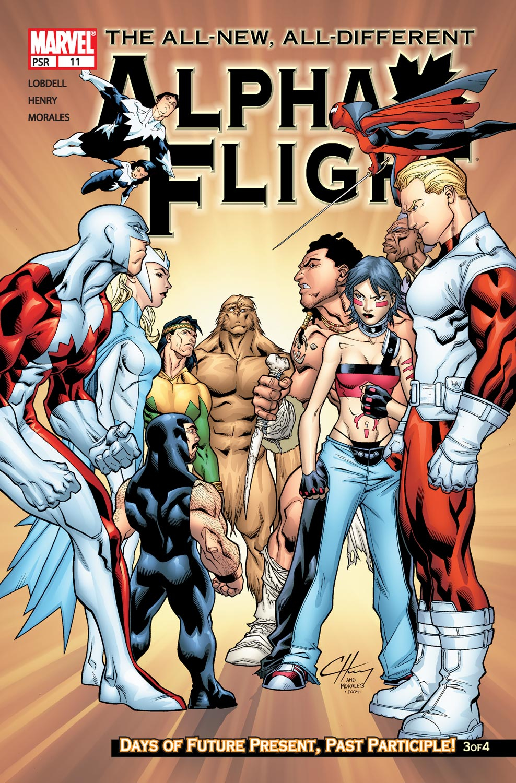Alpha Flight (2004) 11 Page 1