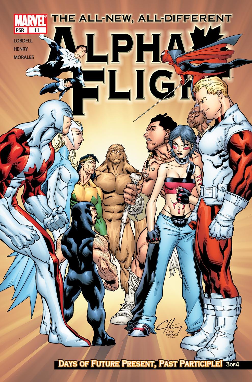 Alpha Flight (2004) issue 11 - Page 1