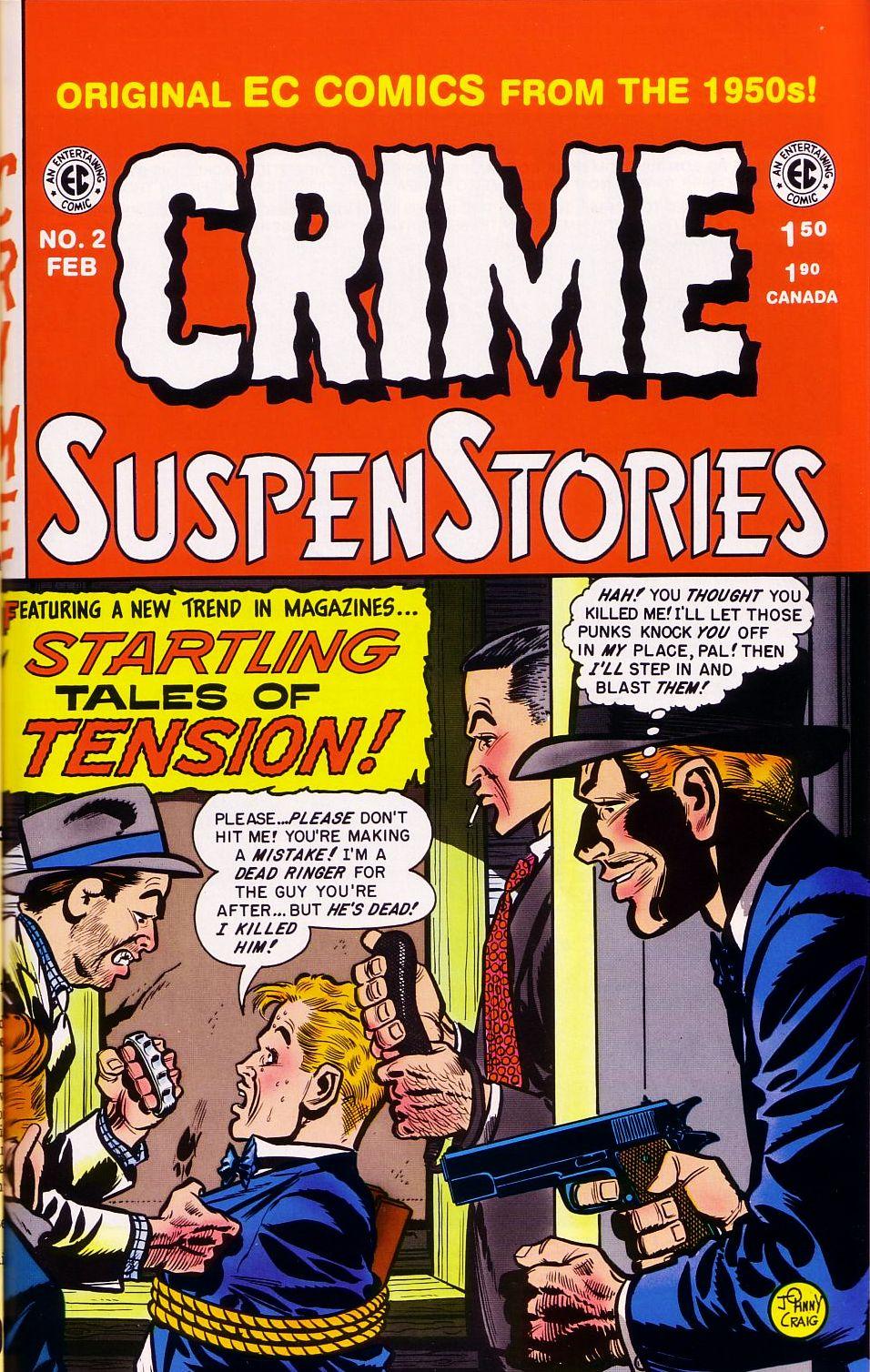 Crime SuspenStories 2 Page 1