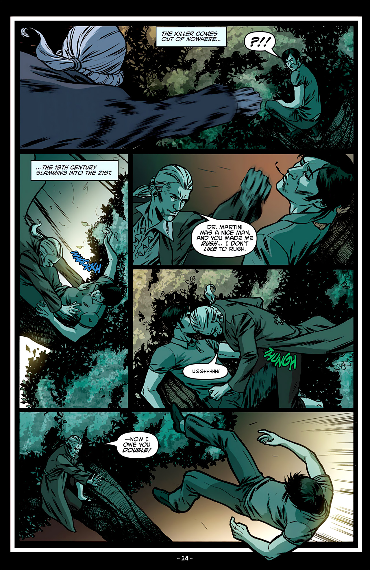 Read online True Blood: French Quarter comic -  Issue #3 - 19