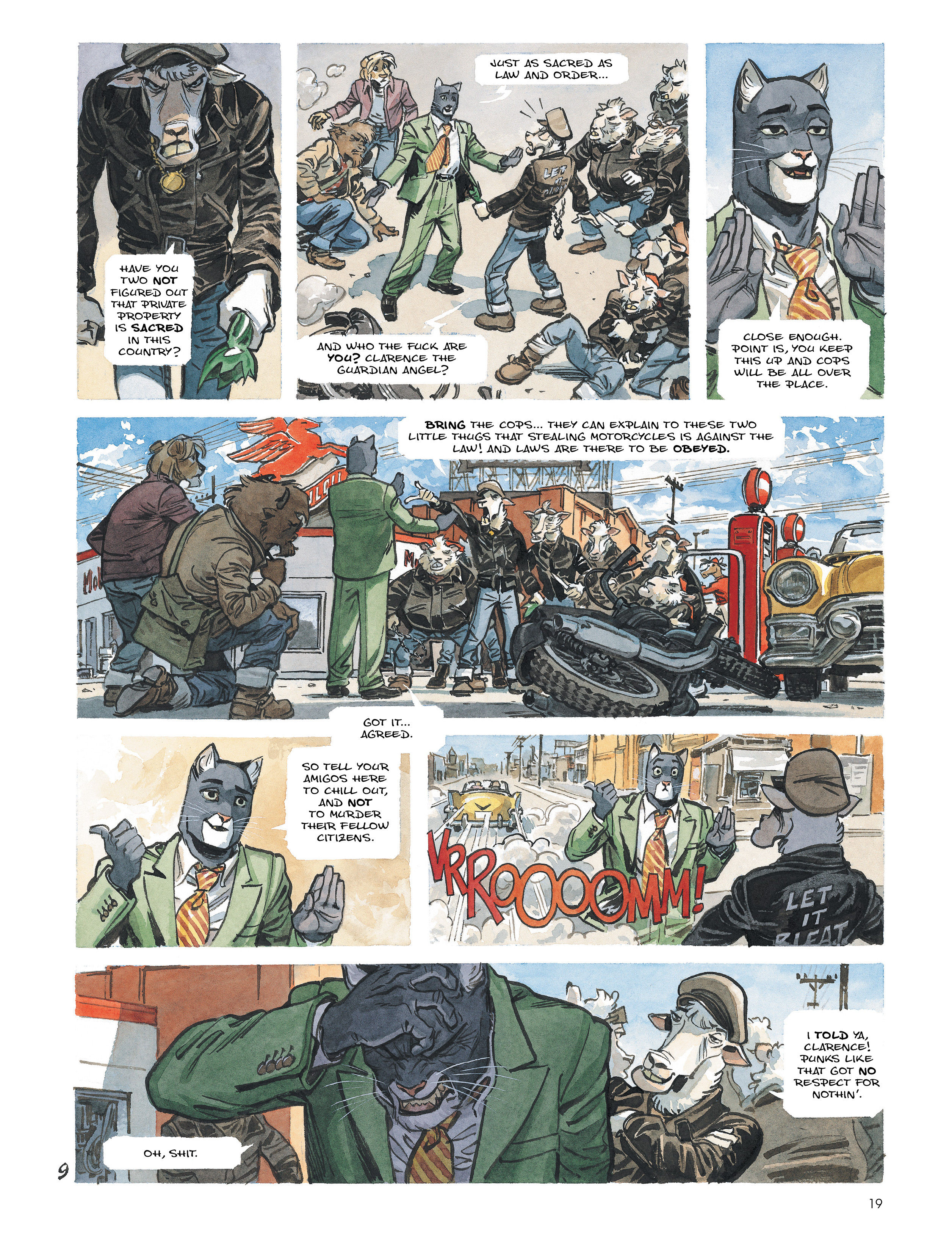 Read online Blacksad: Amarillo comic -  Issue # Full - 18