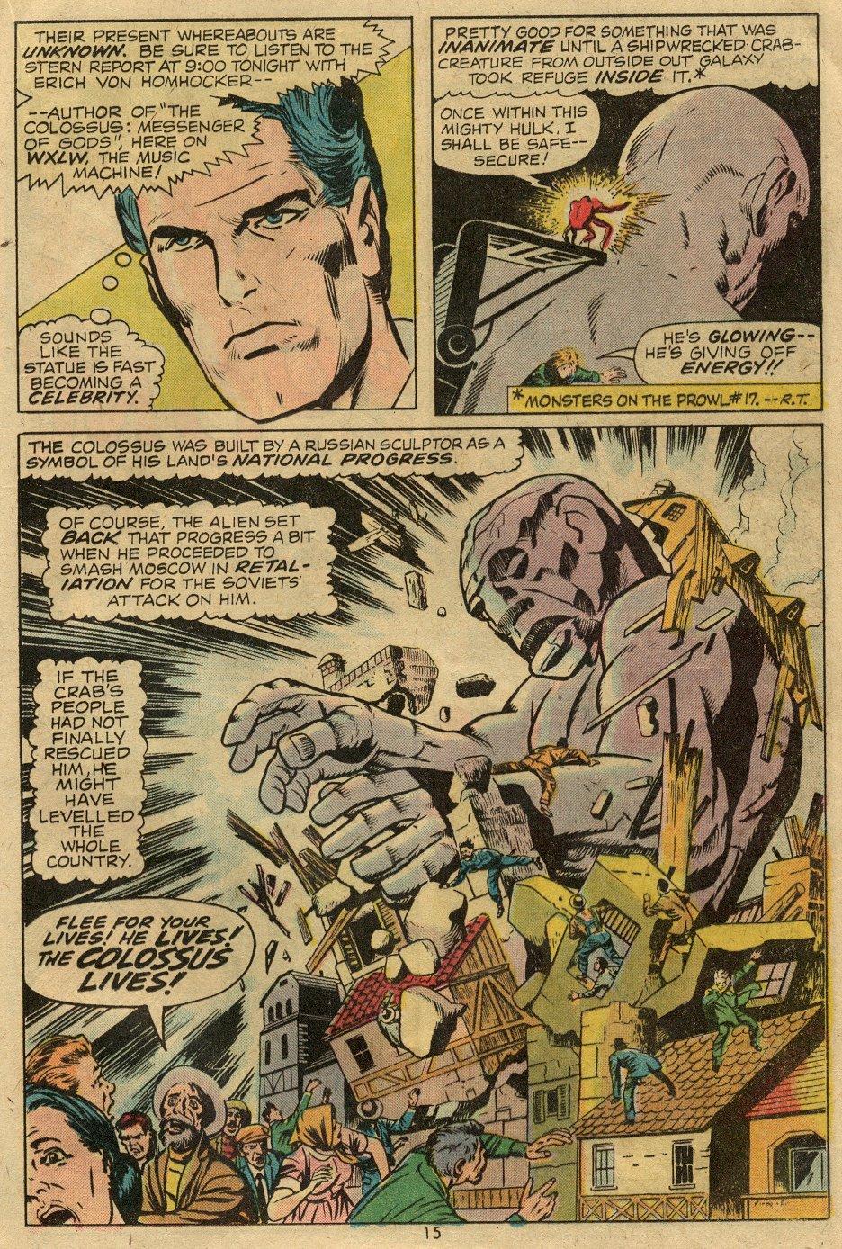 Read online Astonishing Tales (1970) comic -  Issue #24 - 9
