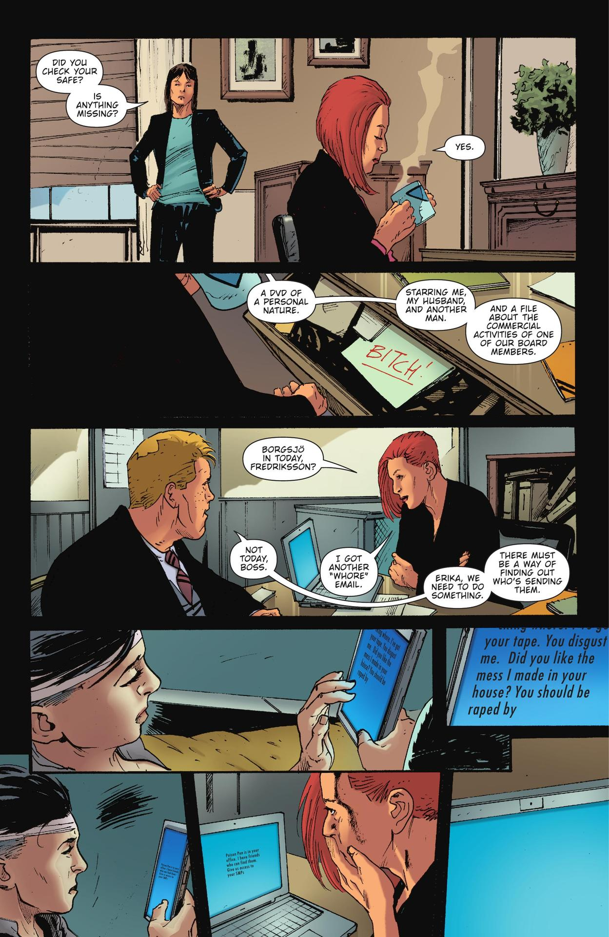 Read online The Girl Who Kicked The Hornet's Nest comic -  Issue # TPB - 187
