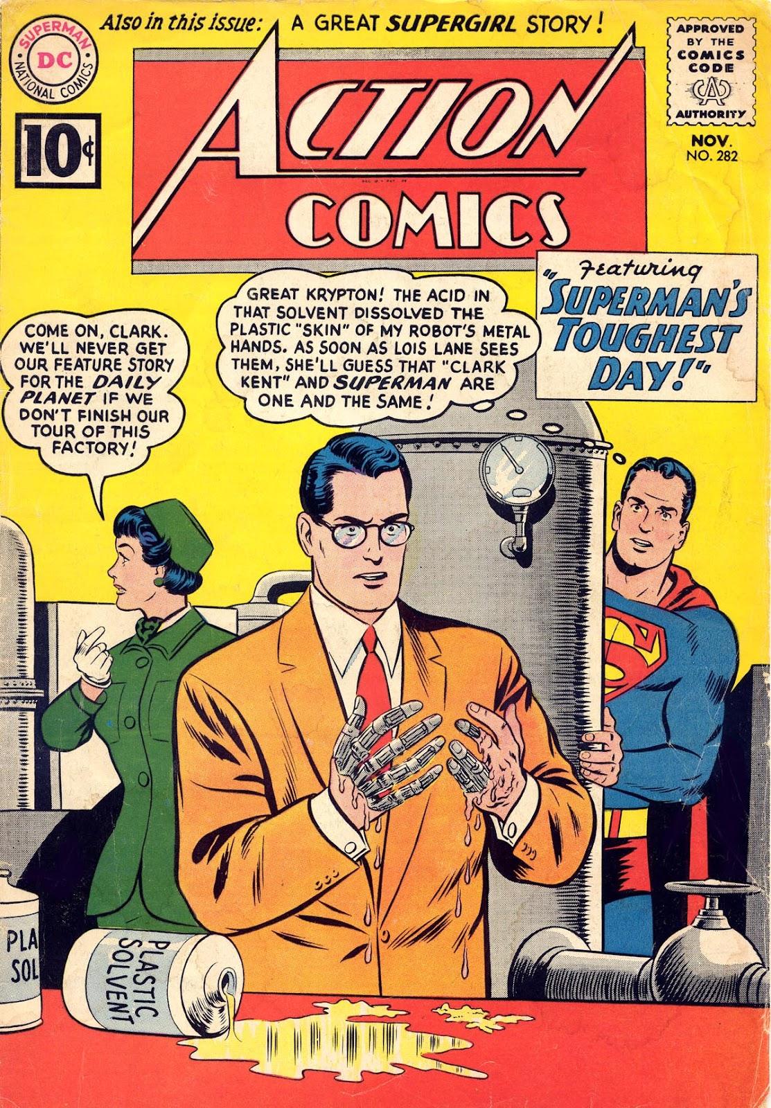 Action Comics (1938) 282 Page 1