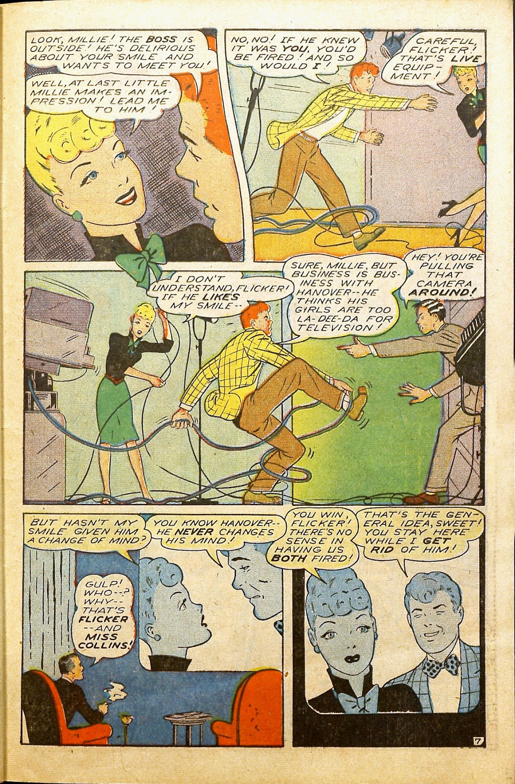 Read online Millie the Model comic -  Issue #2 - 39