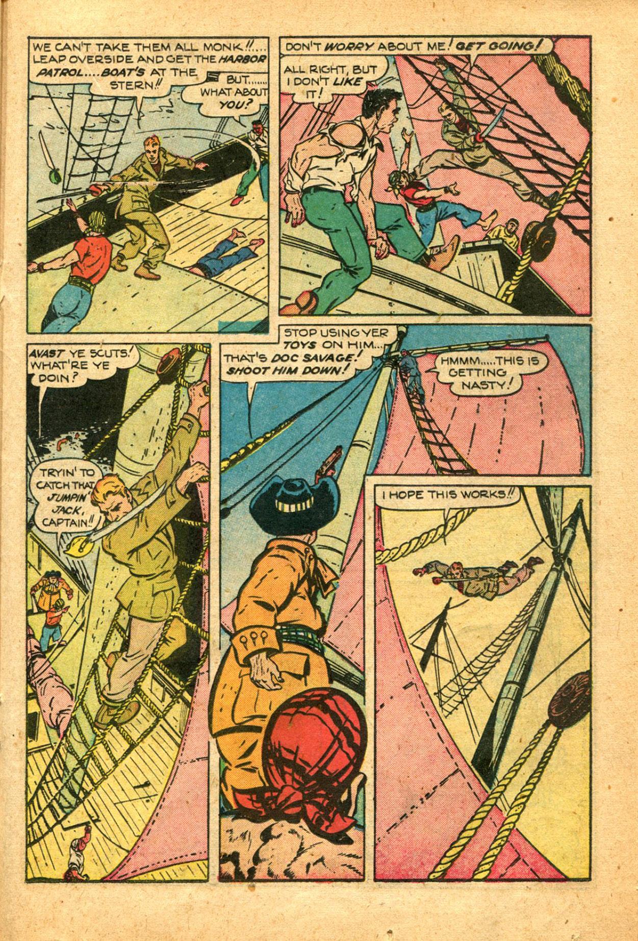 Read online Shadow Comics comic -  Issue #78 - 29
