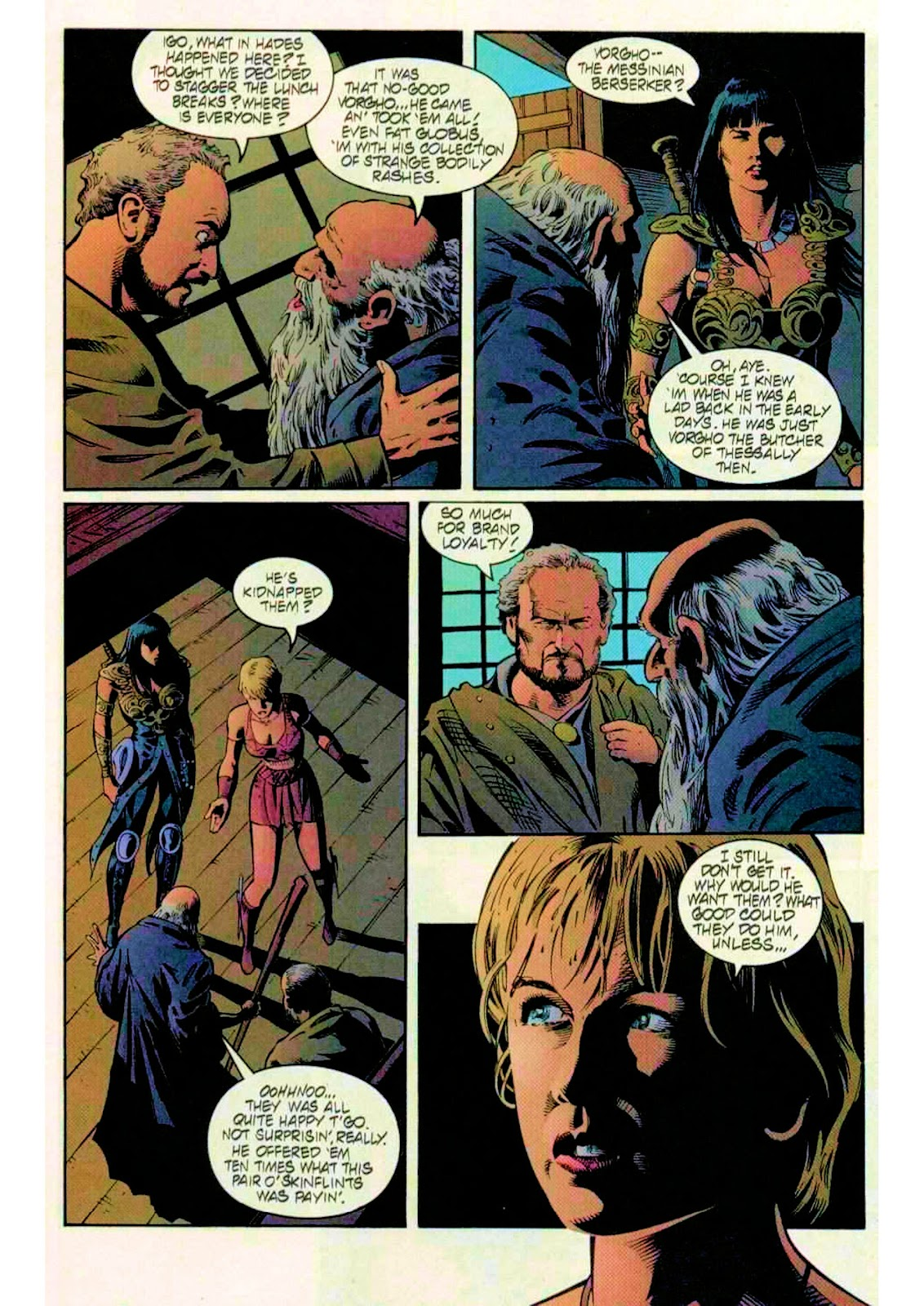 Xena: Warrior Princess (1999) Issue #14 #14 - English 14