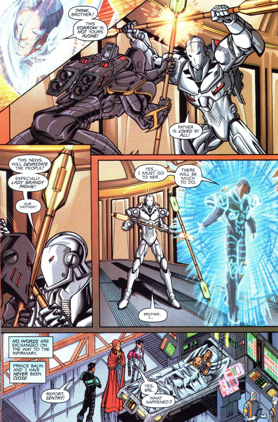 Read online Spaceknights (2000) comic -  Issue #1 - 11