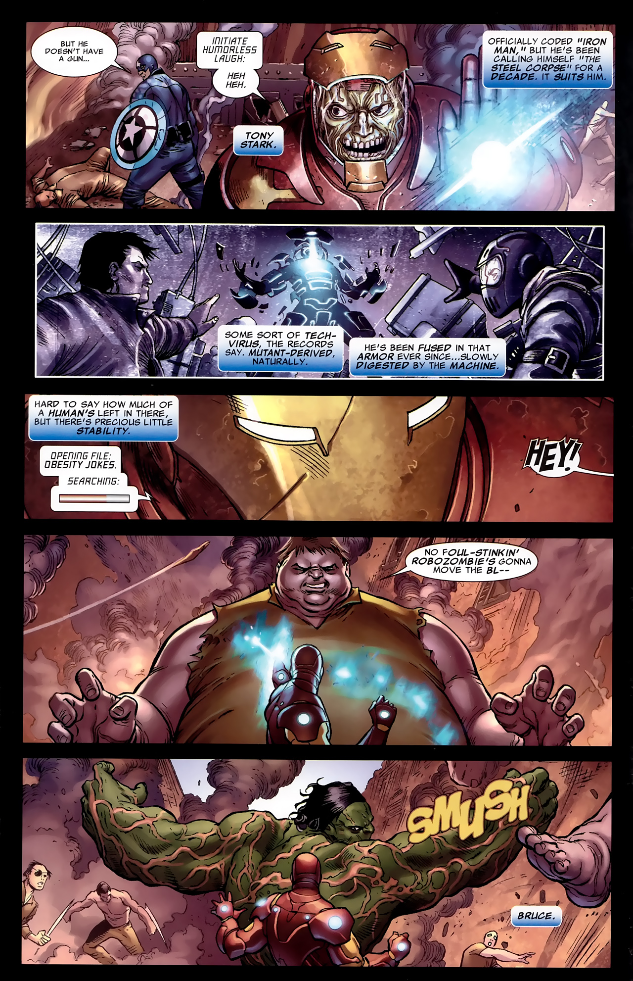 Read online Age of X: Universe comic -  Issue #1 - 8