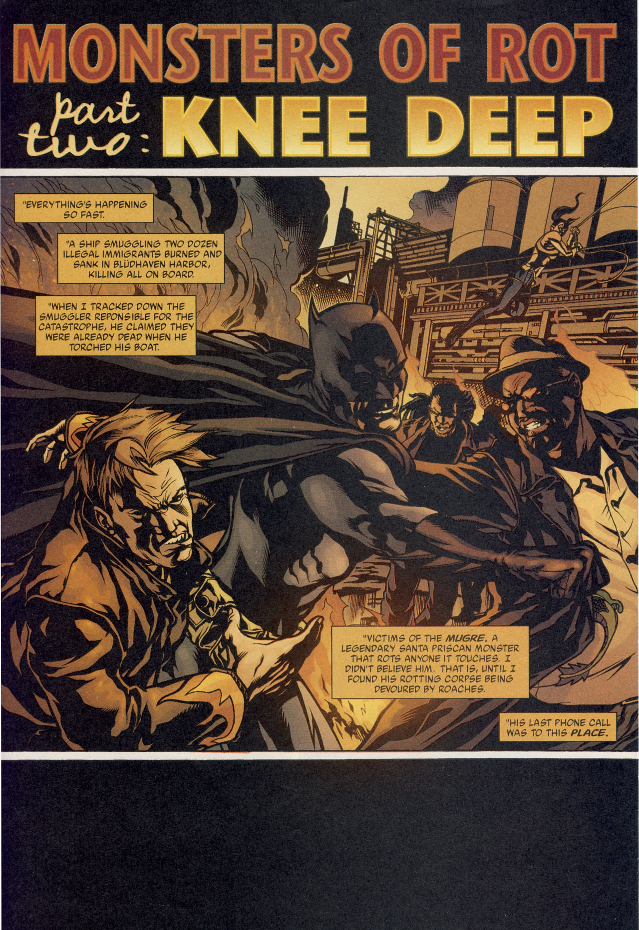 Read online Batman War Drums comic -  Issue # TPB - 119