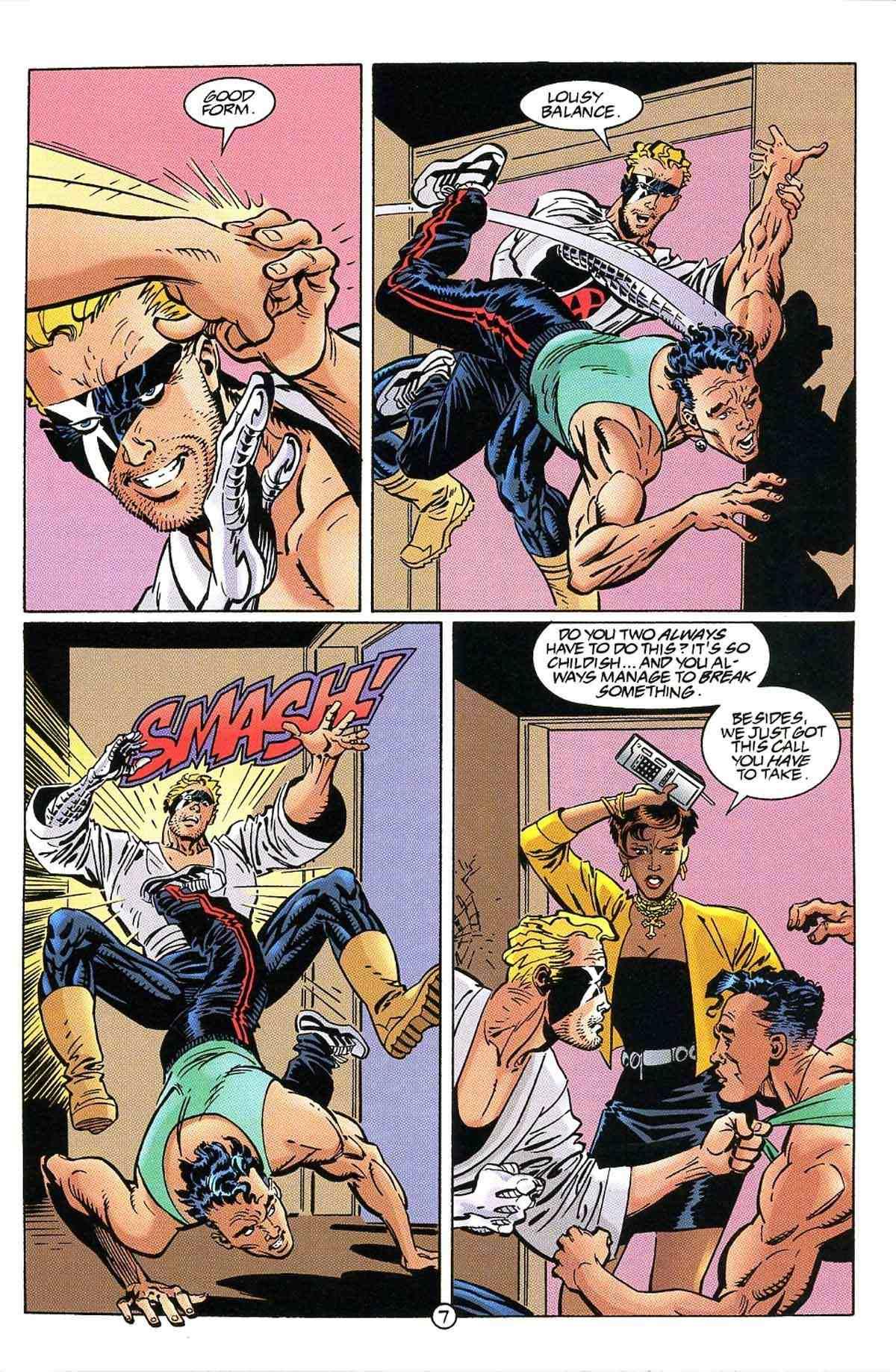 Read online Ultraverse Premiere comic -  Issue #10 - 9
