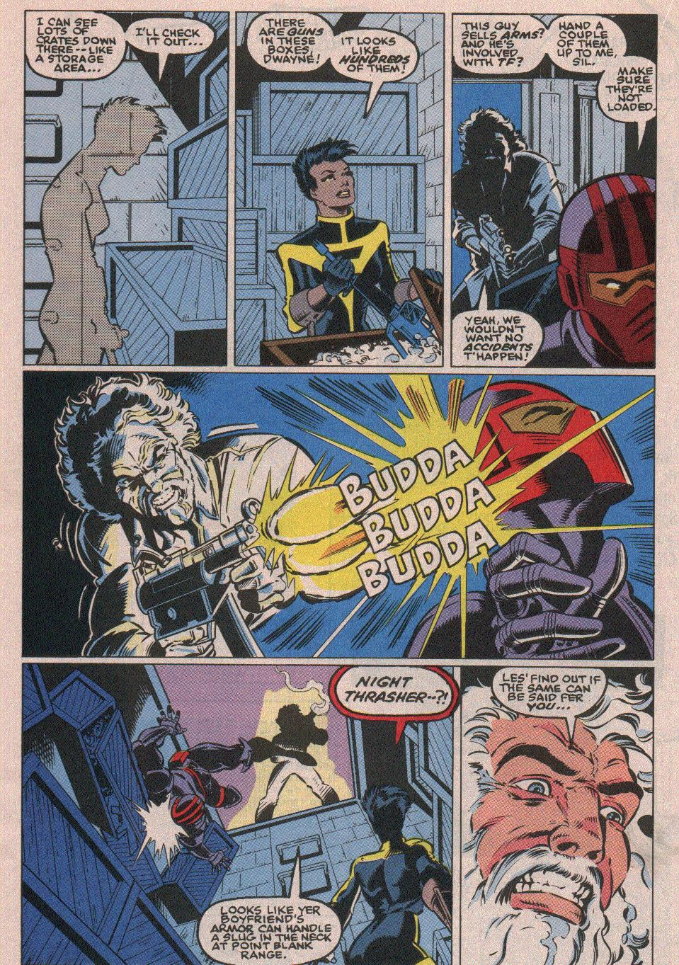 The New Warriors Issue #18 #22 - English 15