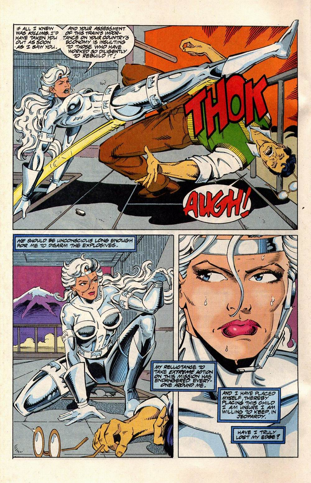 Read online Silver Sable and the Wild Pack comic -  Issue #33 - 5