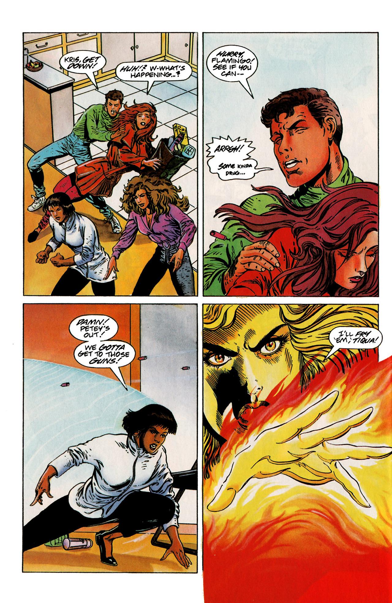 Read online Harbinger (1992) comic -  Issue #19 - 19