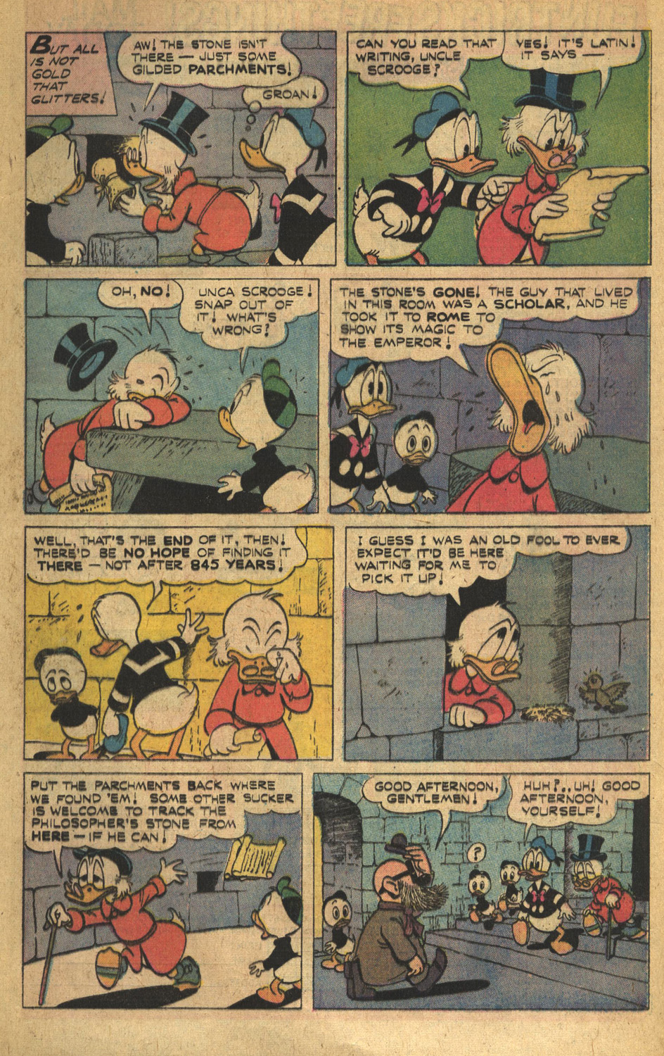 Read online Uncle Scrooge (1953) comic -  Issue #132 - 8