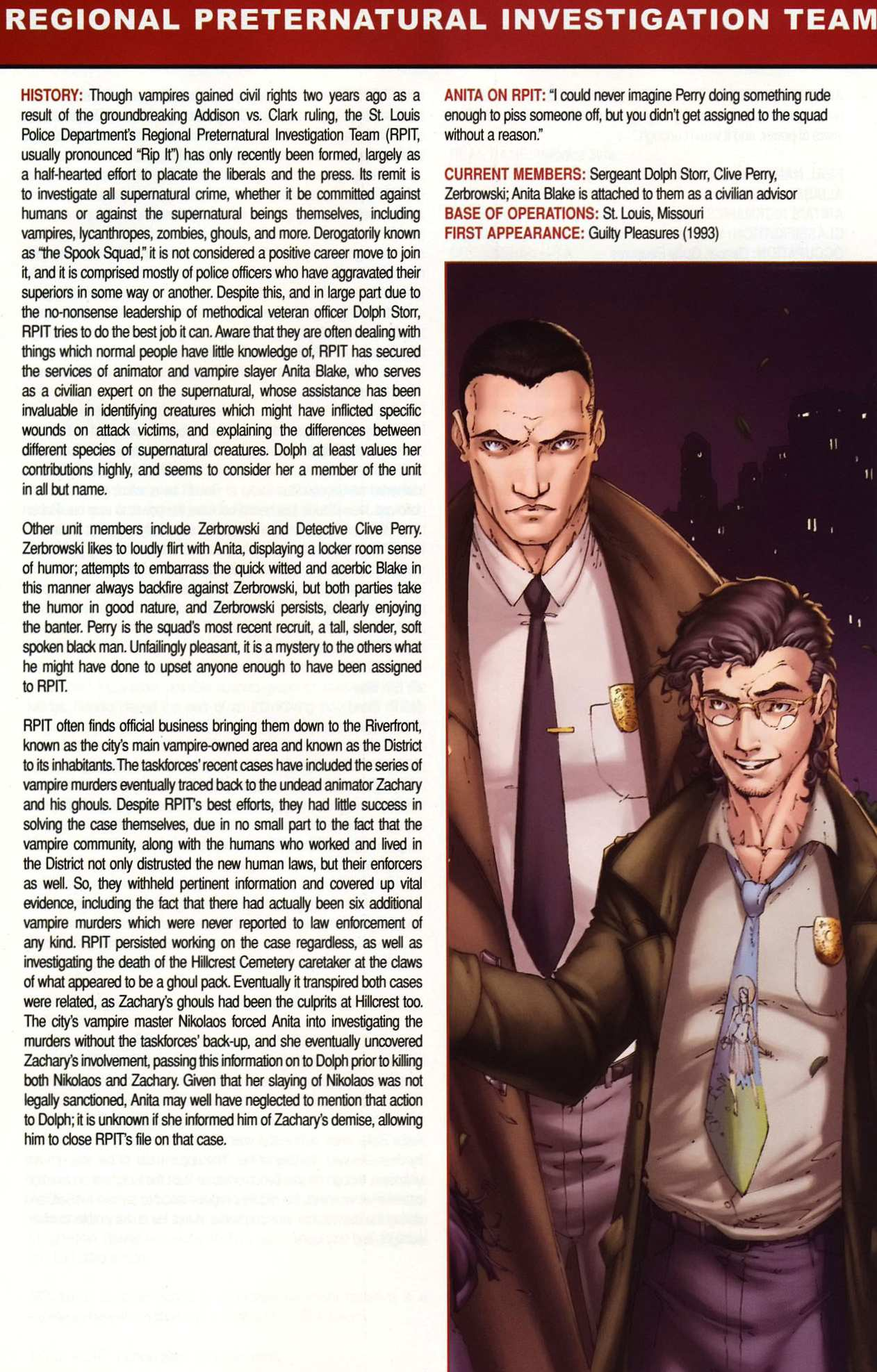Read online Anita Blake, Vampire Hunter: Guilty Pleasures Handbook comic -  Issue #Anita Blake, Vampire Hunter: Guilty Pleasures Handbook Full - 27